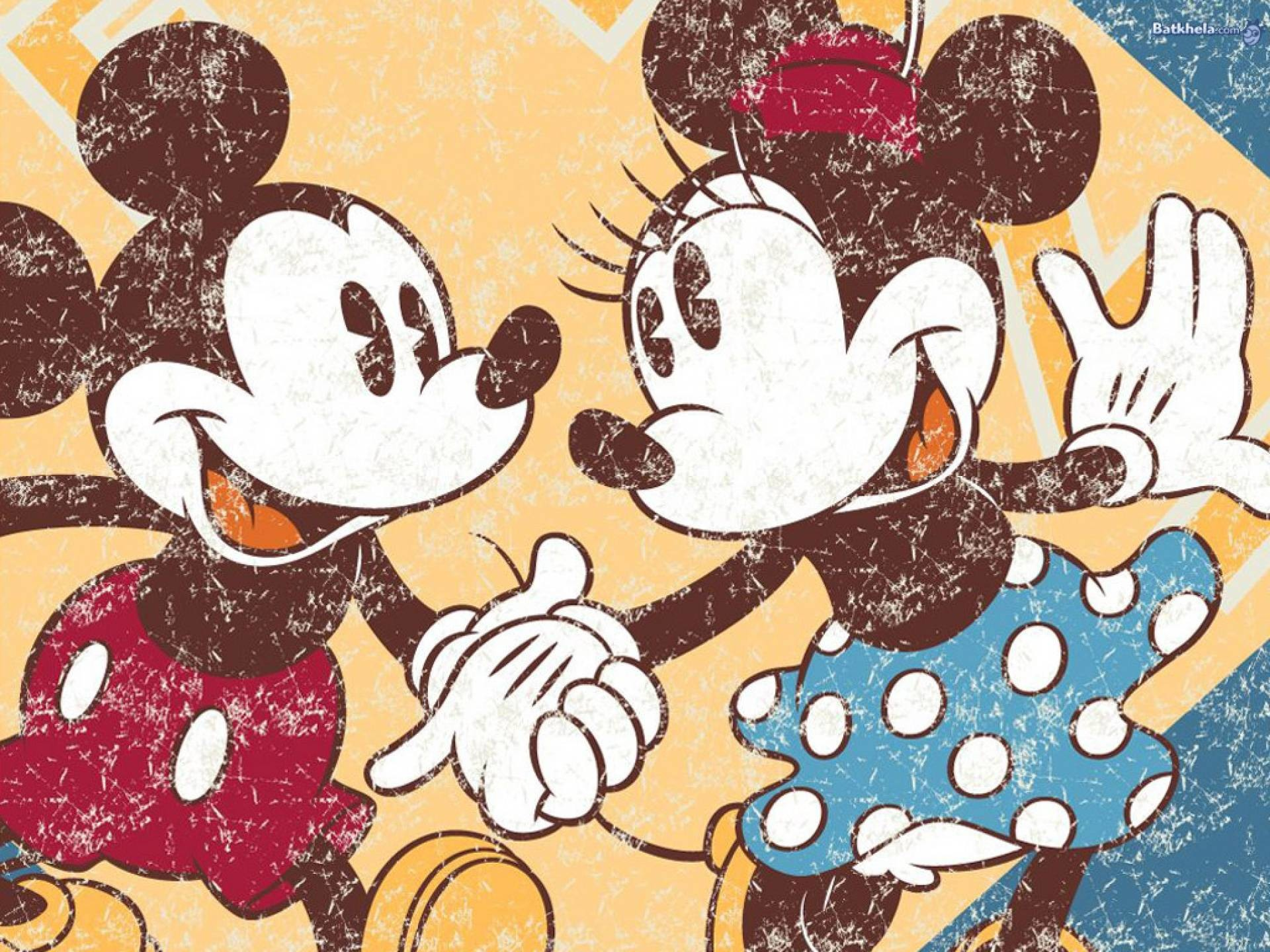 Mickey And Minnie Wallpaper Wallpapertag