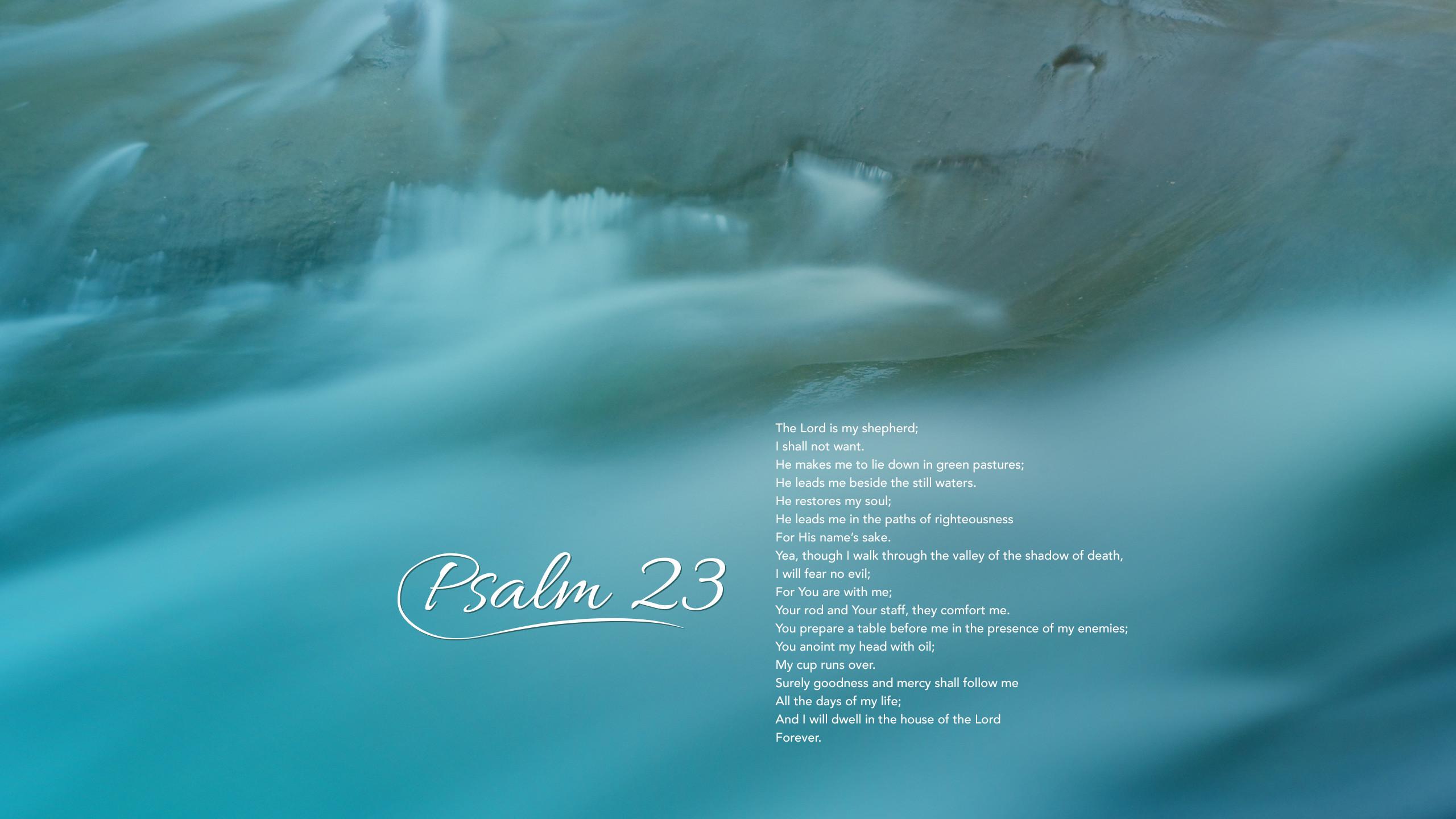 psalm 23 wallpaper 183��