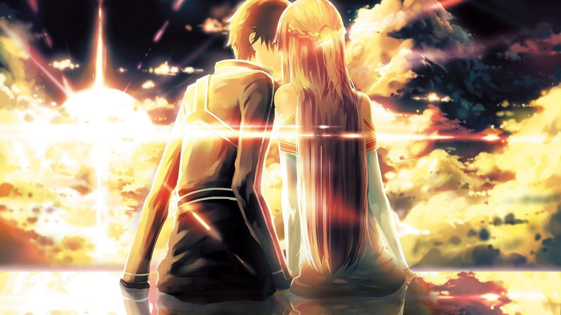 Hd Anime Couple Wallpapers No 1 Wallpaper Hd