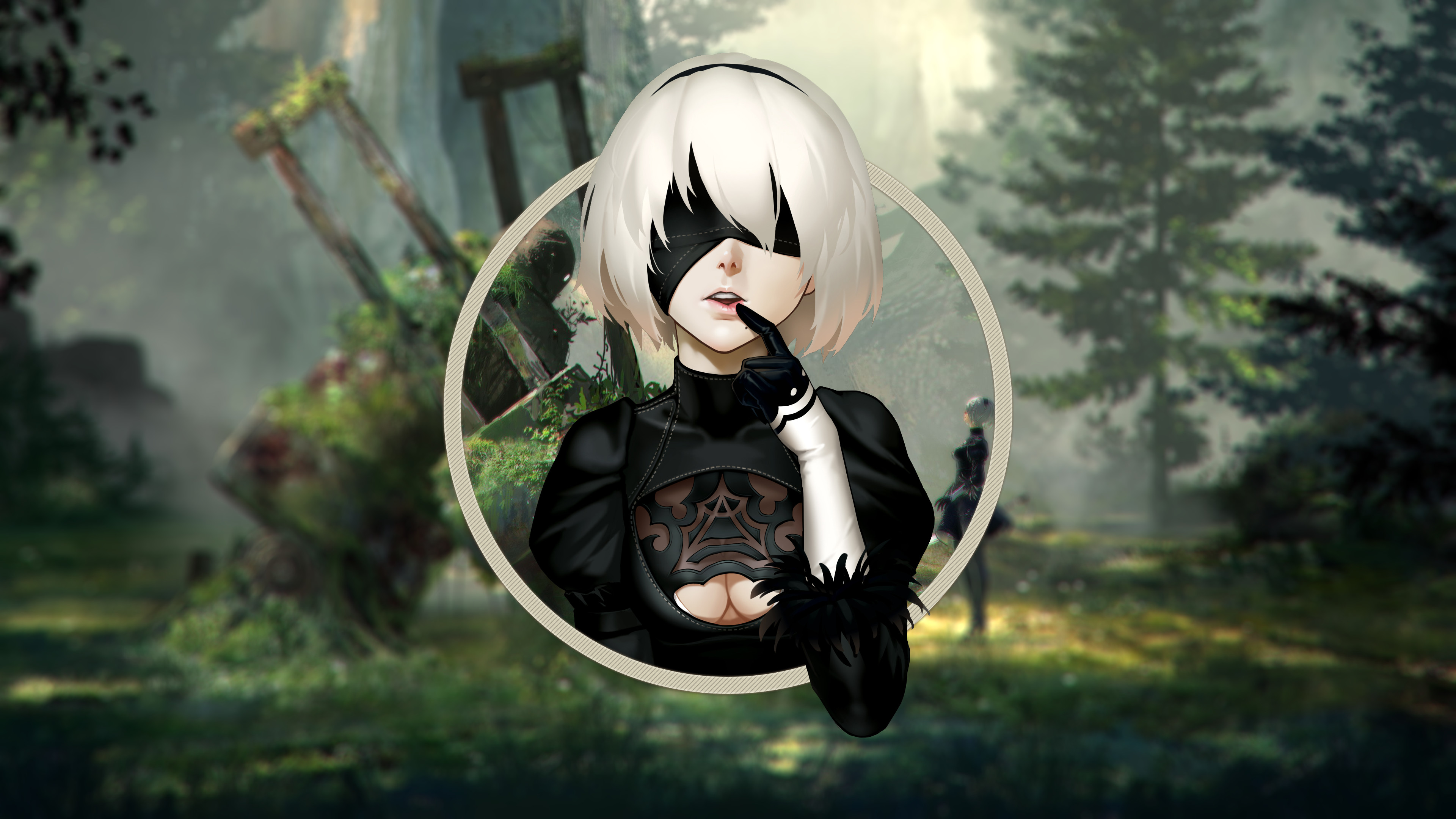 Premise Indicator Words: Nier Automata Wallpapers ·① WallpaperTag