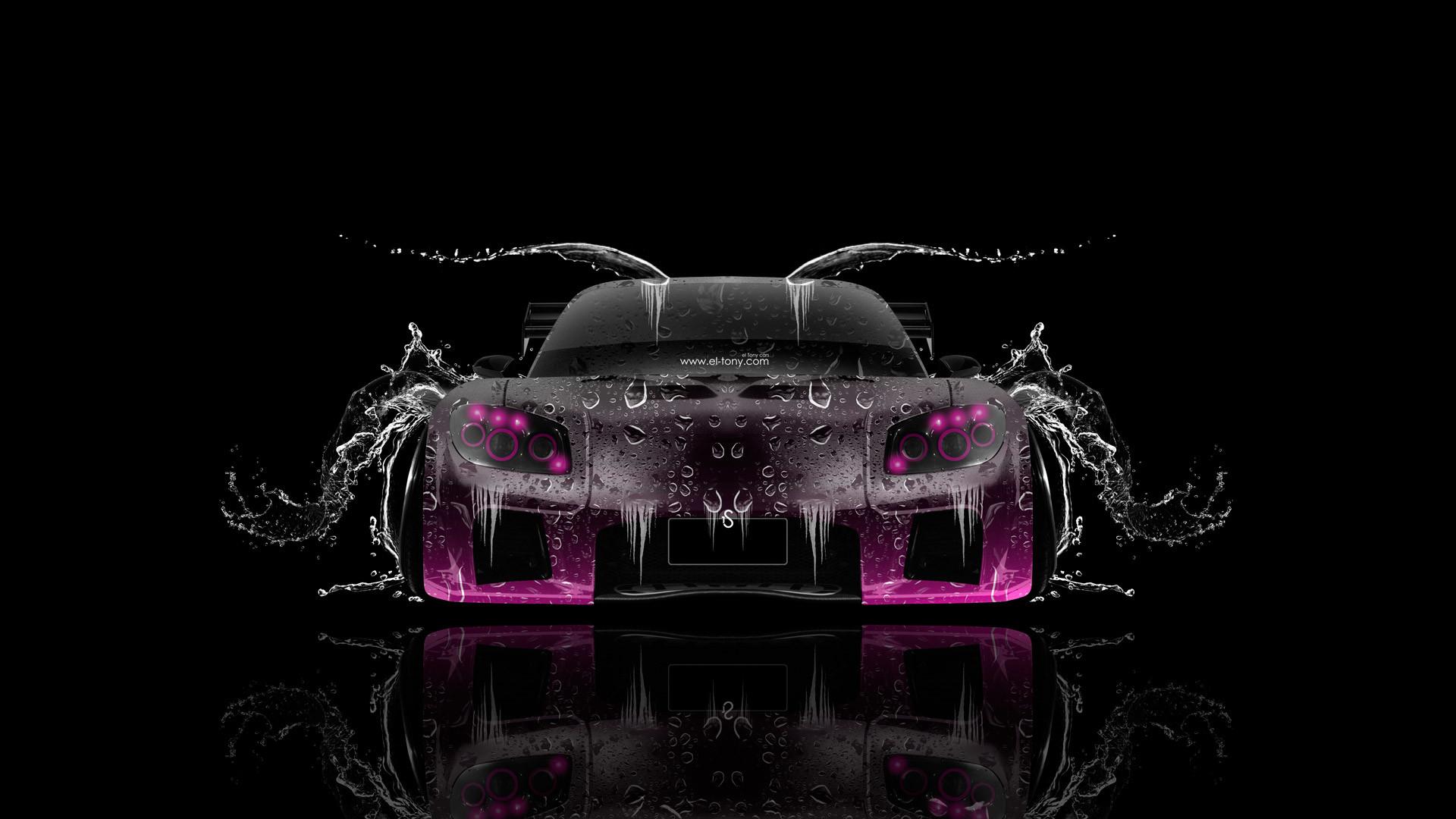 Mazda RX7 VeilSide JDM Side Kiwi Aerography Car