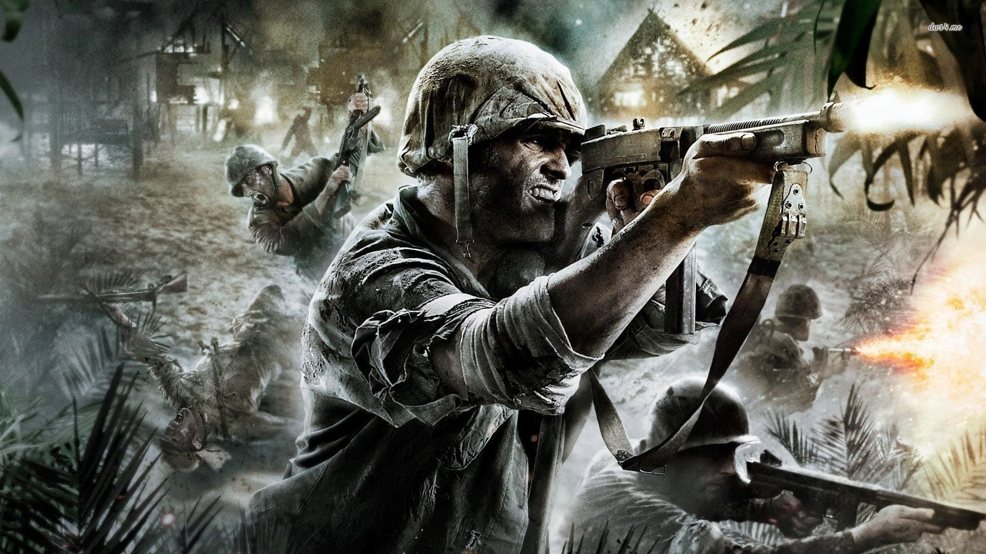 Call Of Duty World At War Wallpaper 1920x1080 Wallpapertag