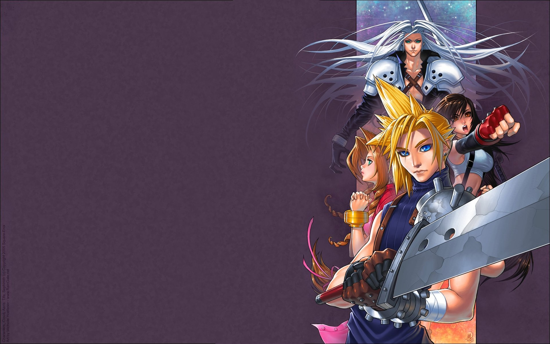 Final fantasy vii wallpaper download free awesome full - Fantasy wallpaper anime ...
