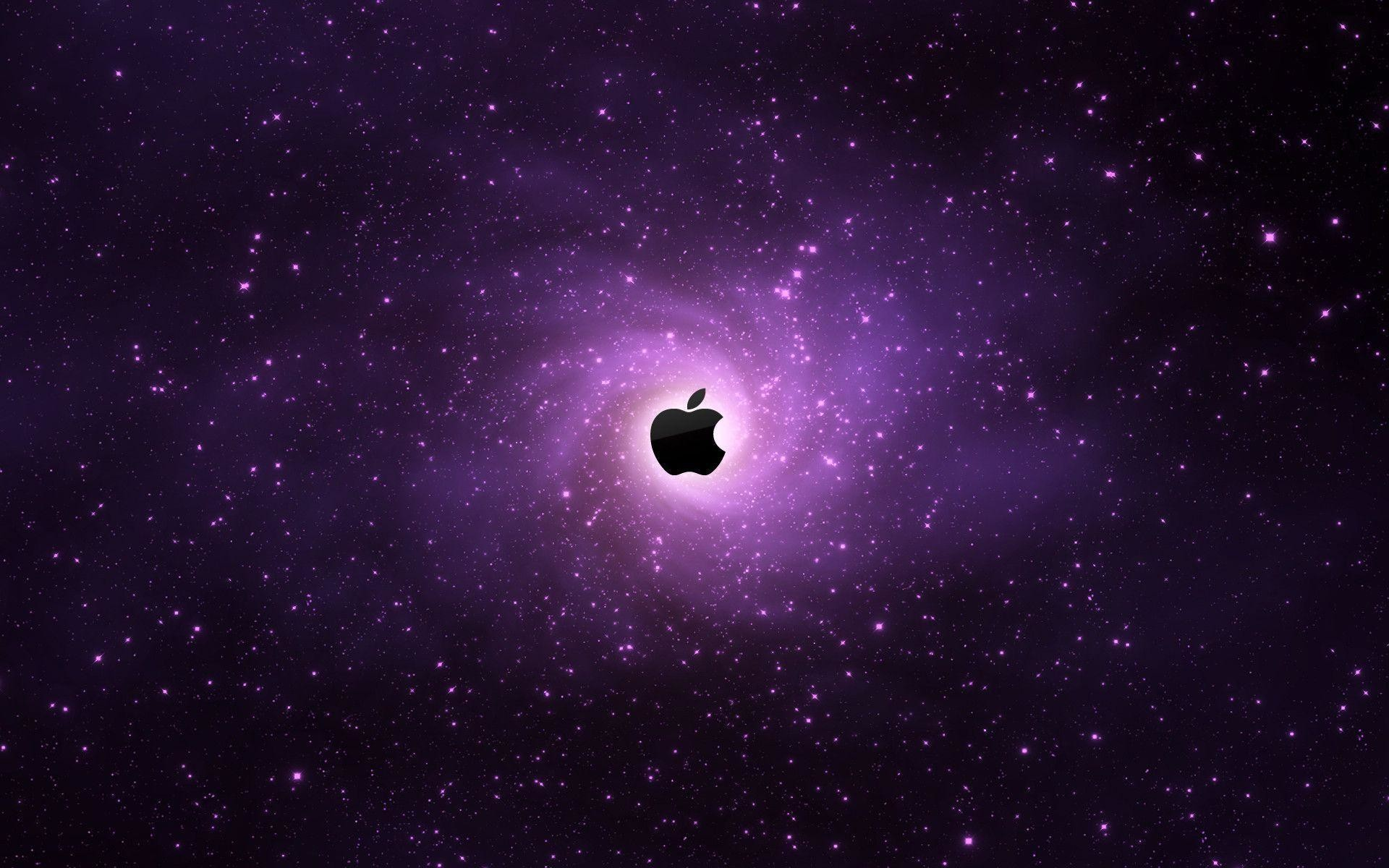 purple apple wallpaper ·①