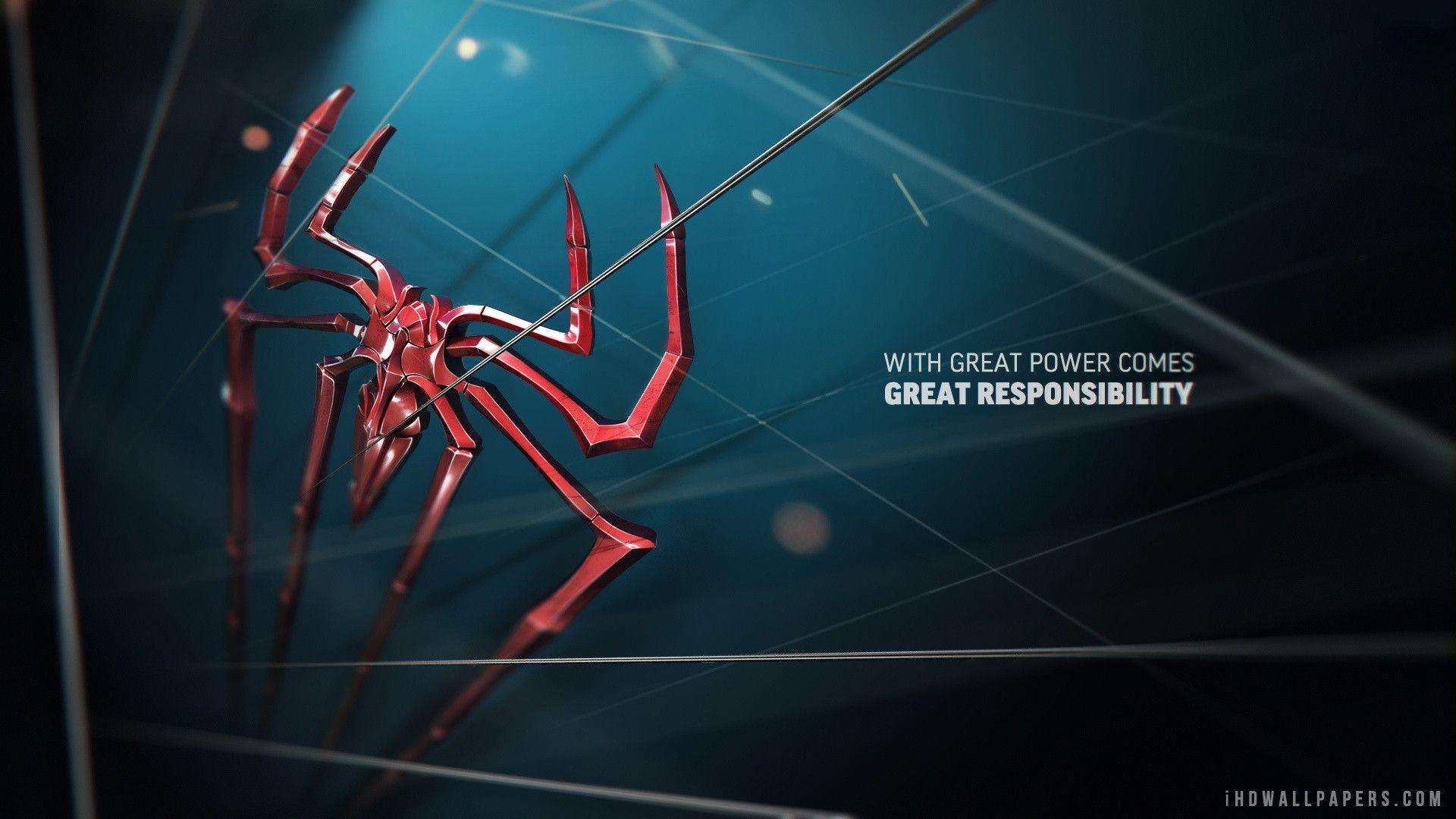 Spiderman Logo Wallpaper ①