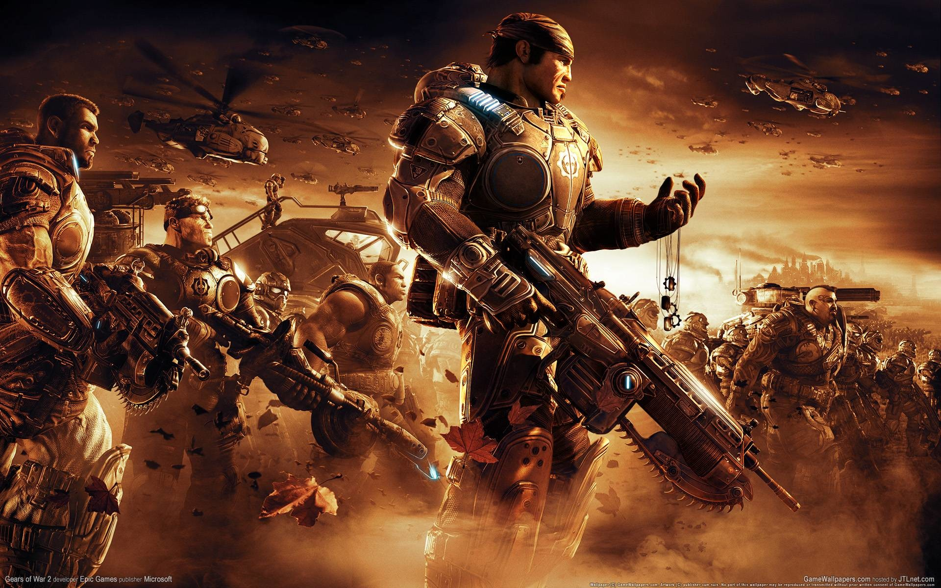 Gears Of War 2 Wallpaper Wallpapertag