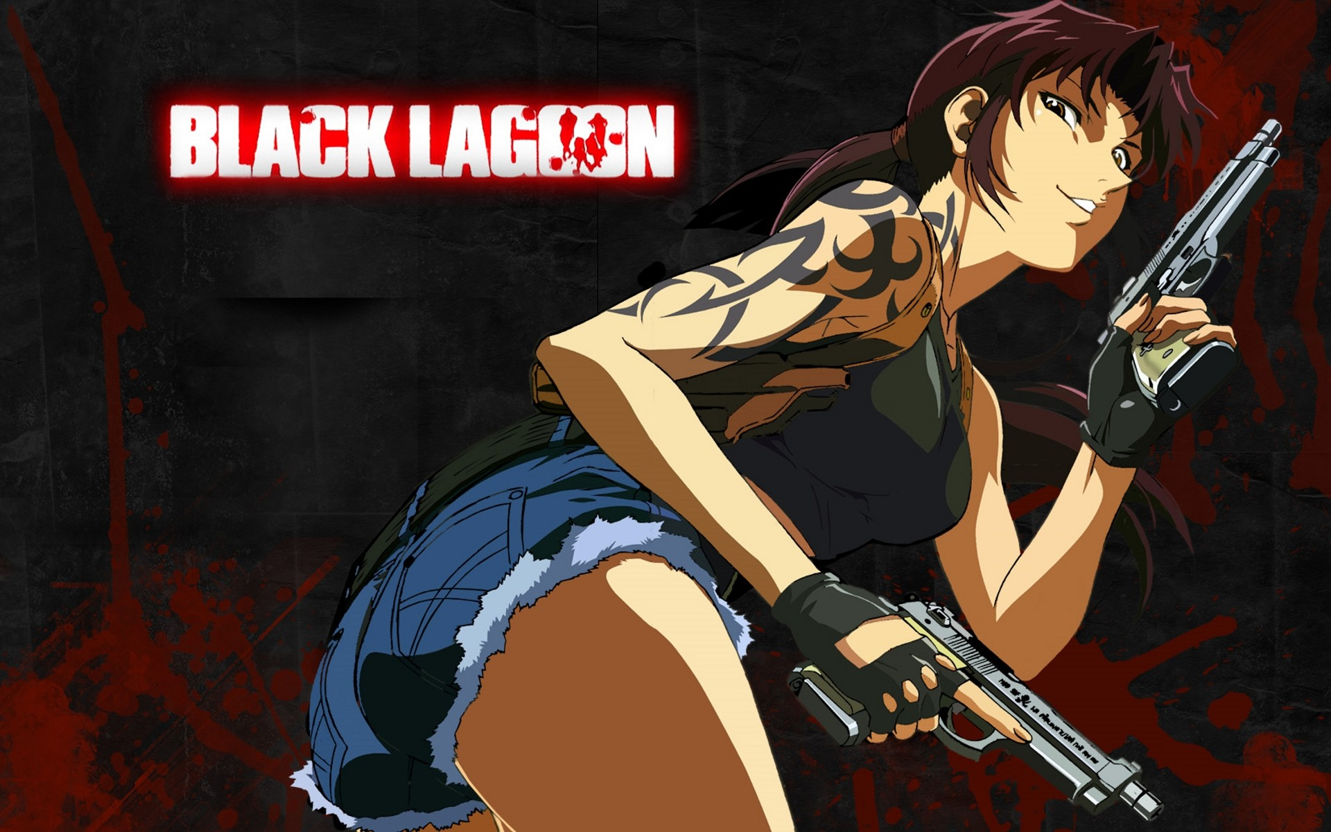 Black Lagoon Revy Wallpaper Hd Wallpapertag