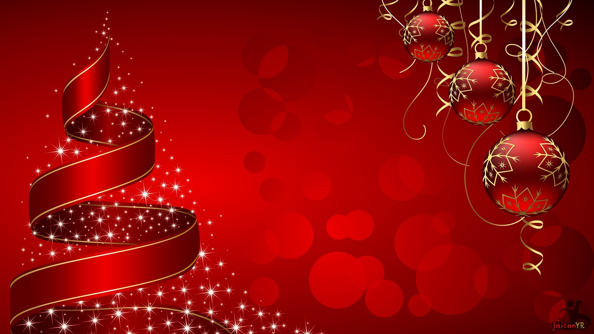 1920x1080 christmas new year wallpaper hd download 2017