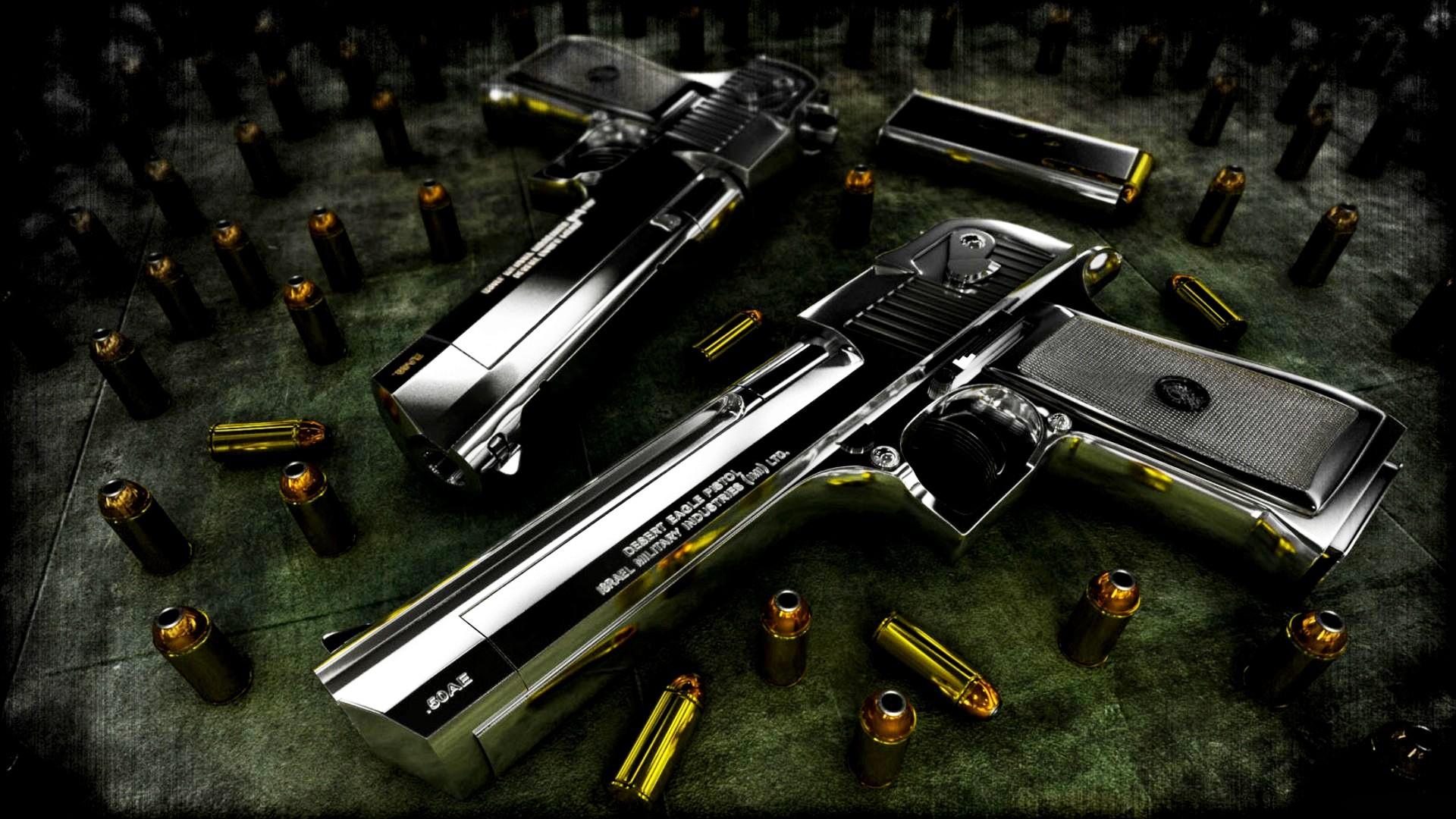 cool gun backgrounds ·①