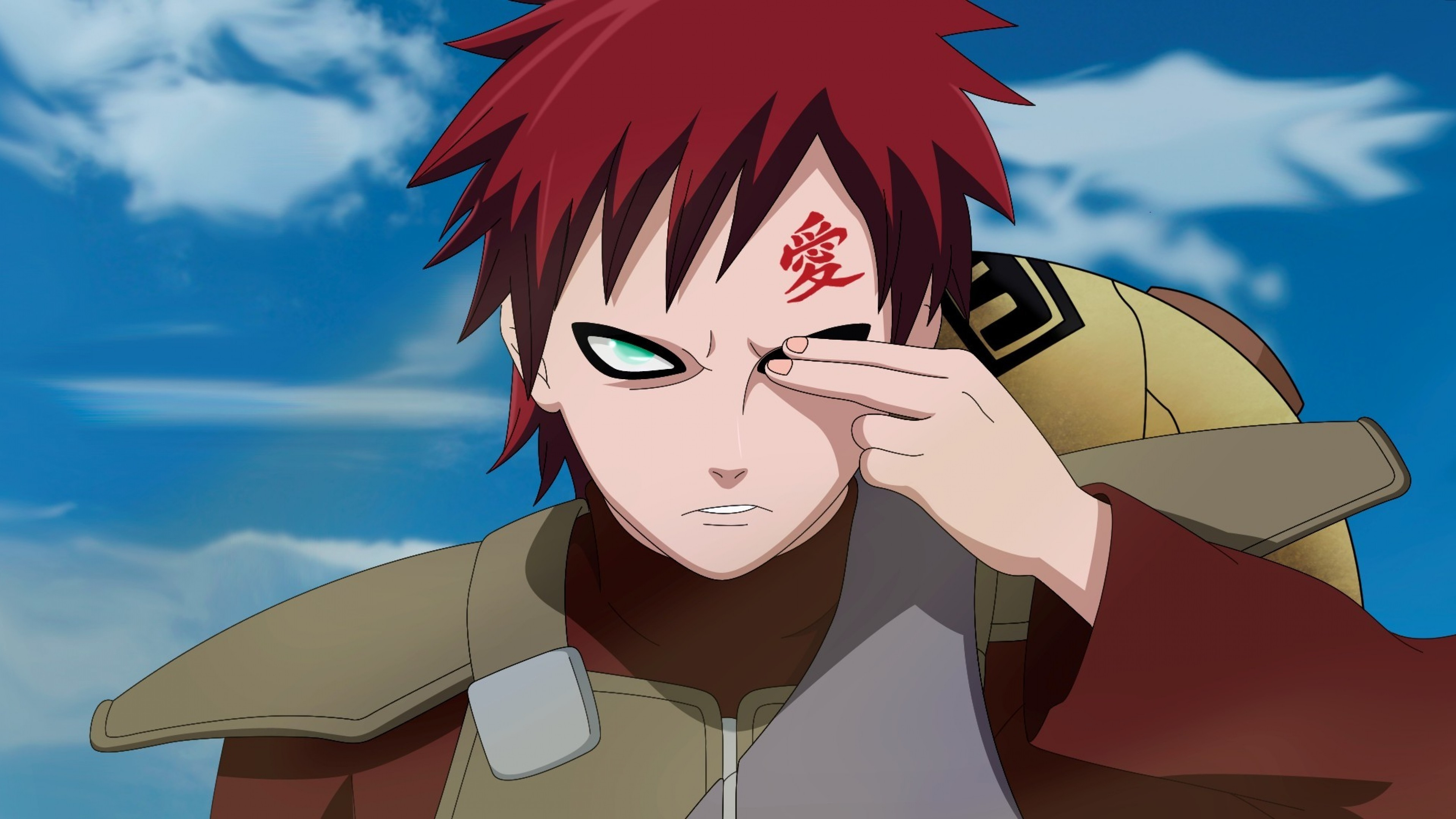 Naruto and Gaara Wallp...