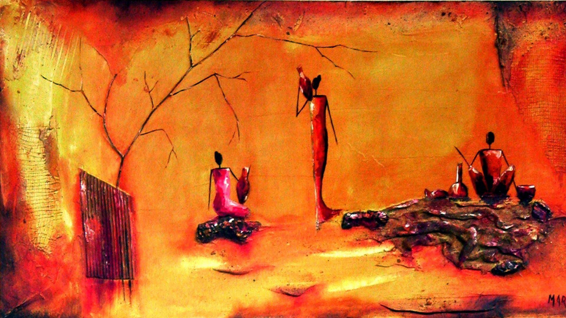 African Art Wallpaper 183 ① Wallpapertag
