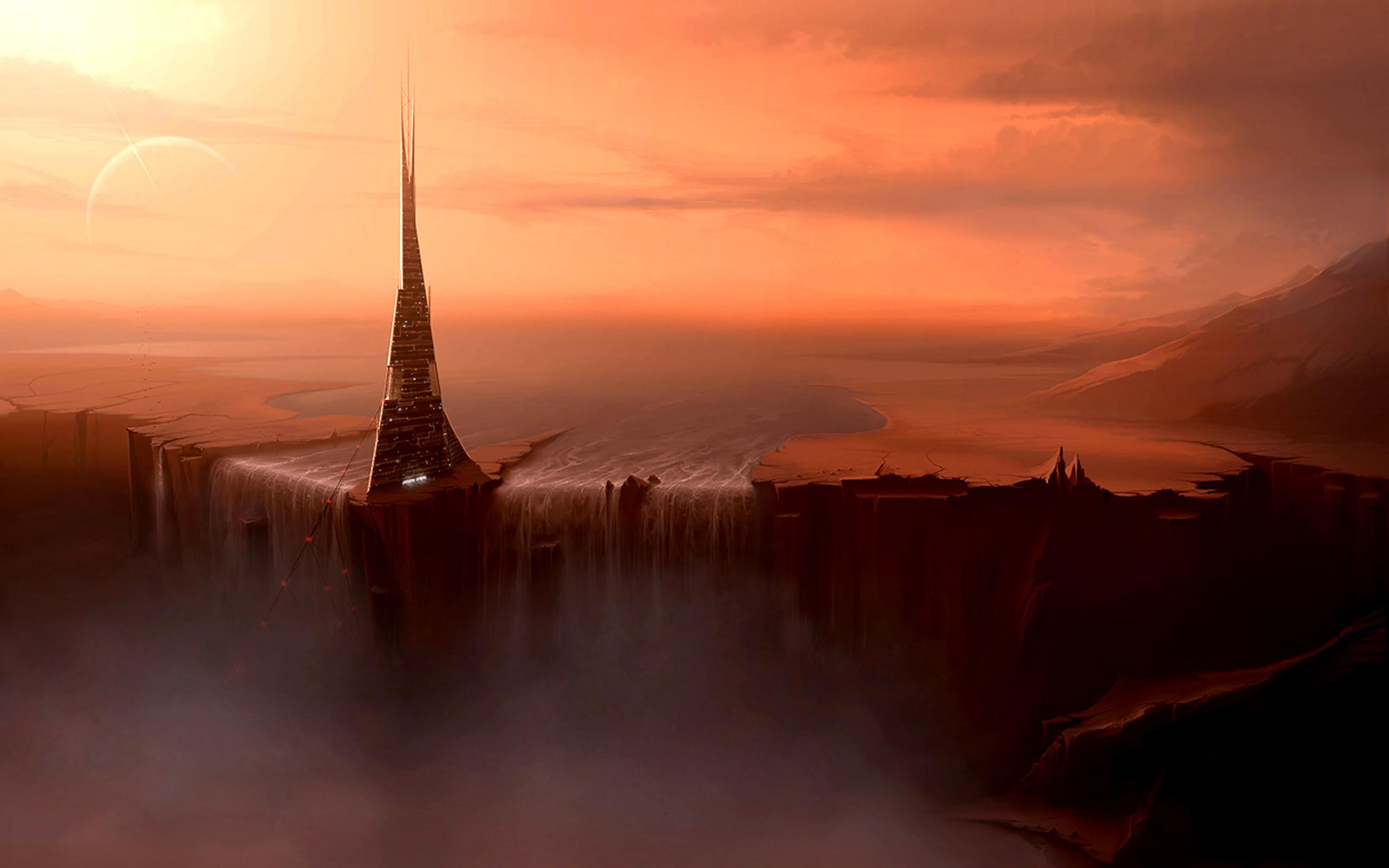 alien landscapes fantasy - HD3840×2160