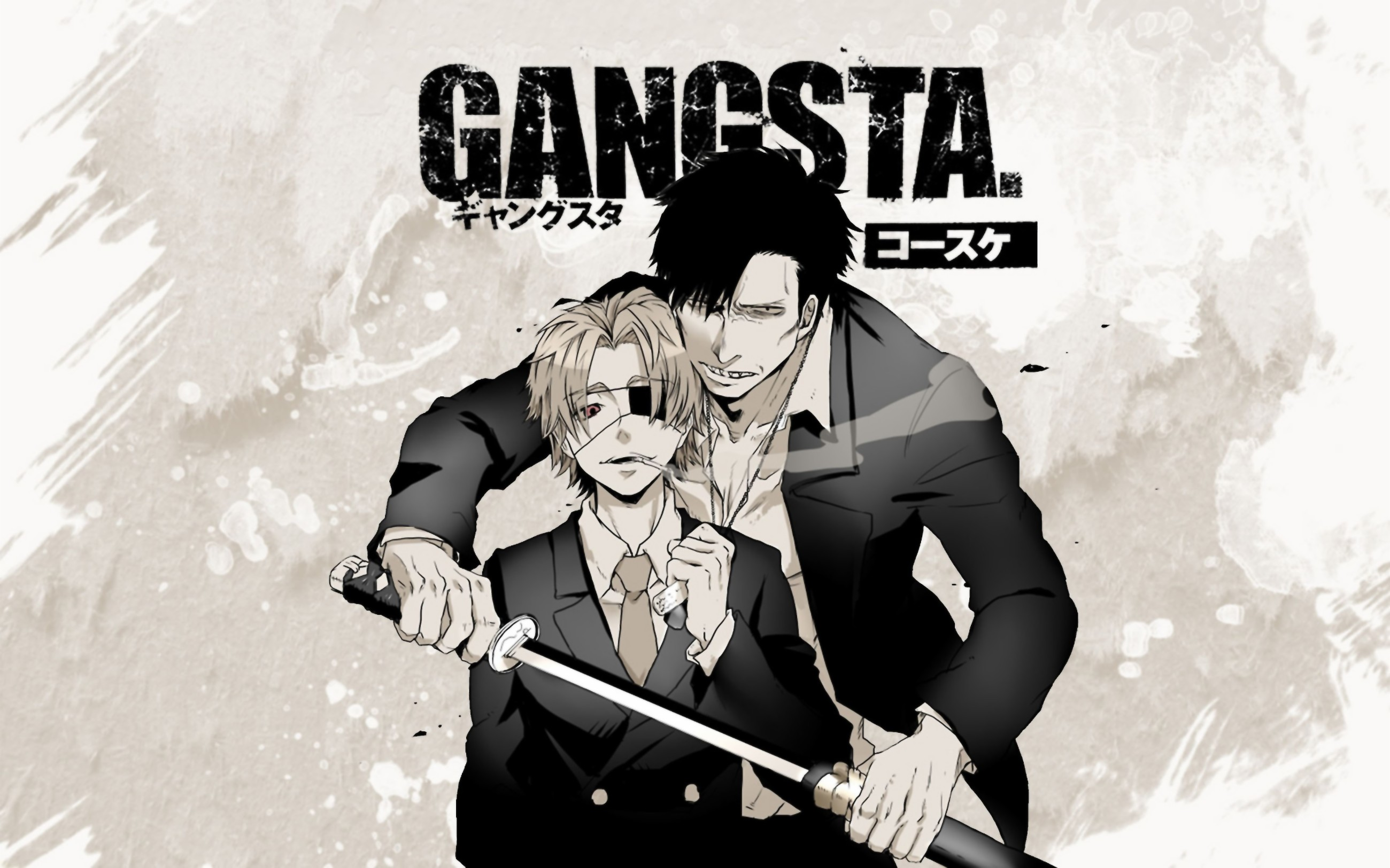 2600x1625 hd wallpaper background id755828 2600x1625 anime gangsta
