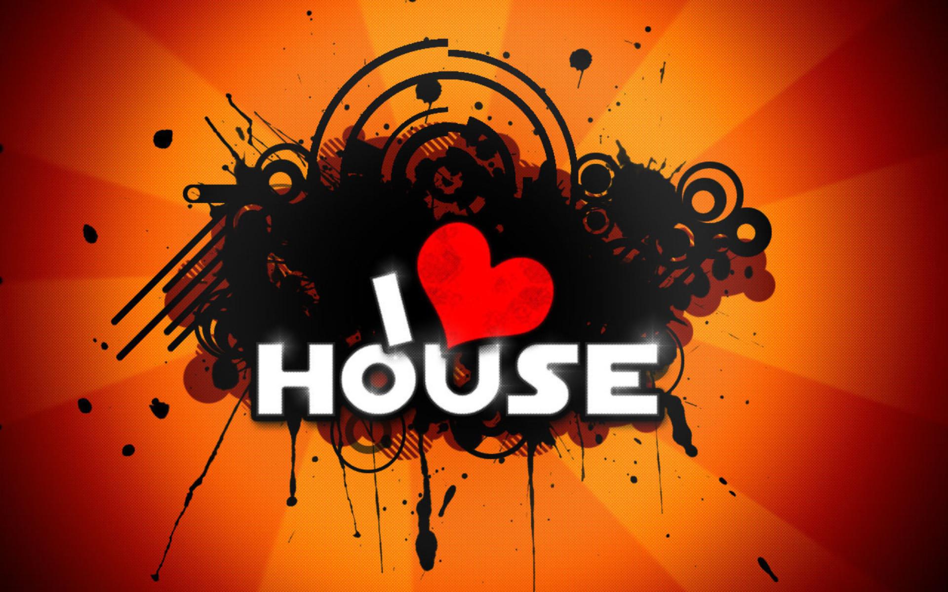 I Love House Music Wallpaper ·①