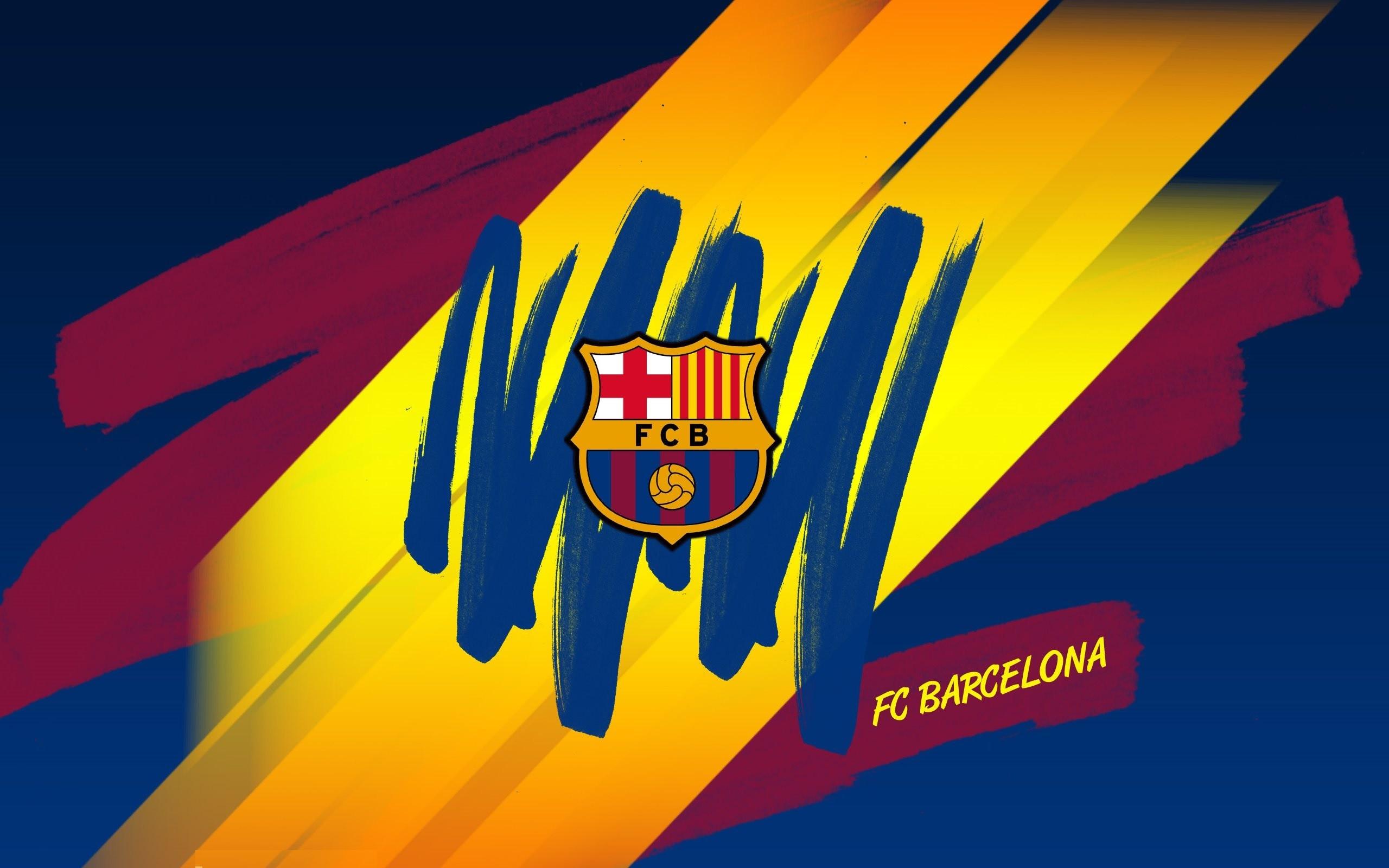 Fc Barcelona Logo Wallpaper ·â' WallpaperTag
