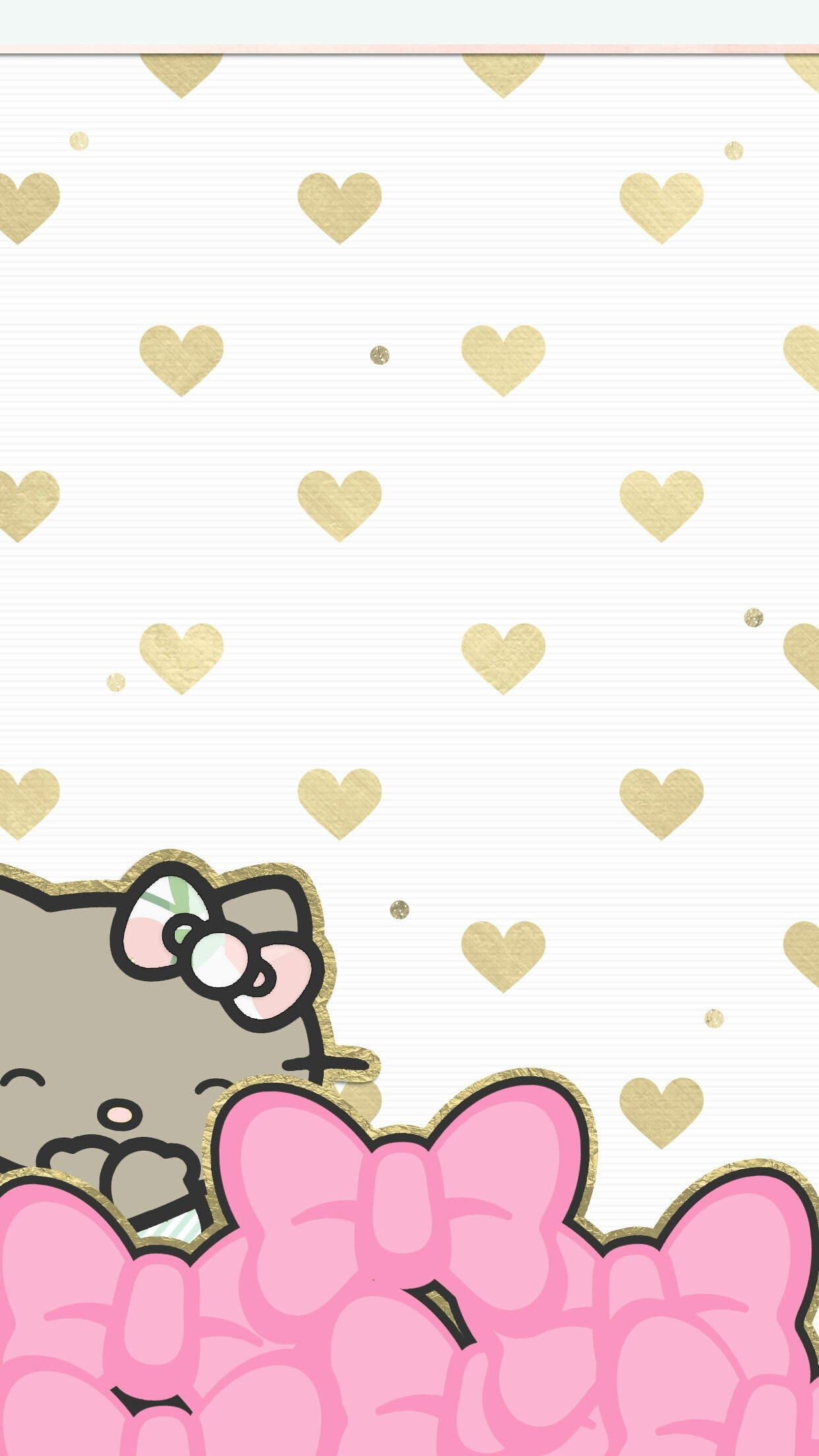 Wallpaper Background Hello Kitty 1
