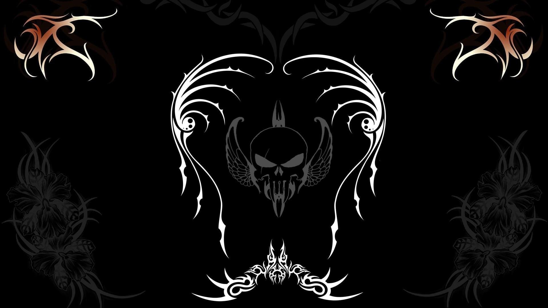 Skull 3d Wallpaper: Skull Wallpaper 3D ·①