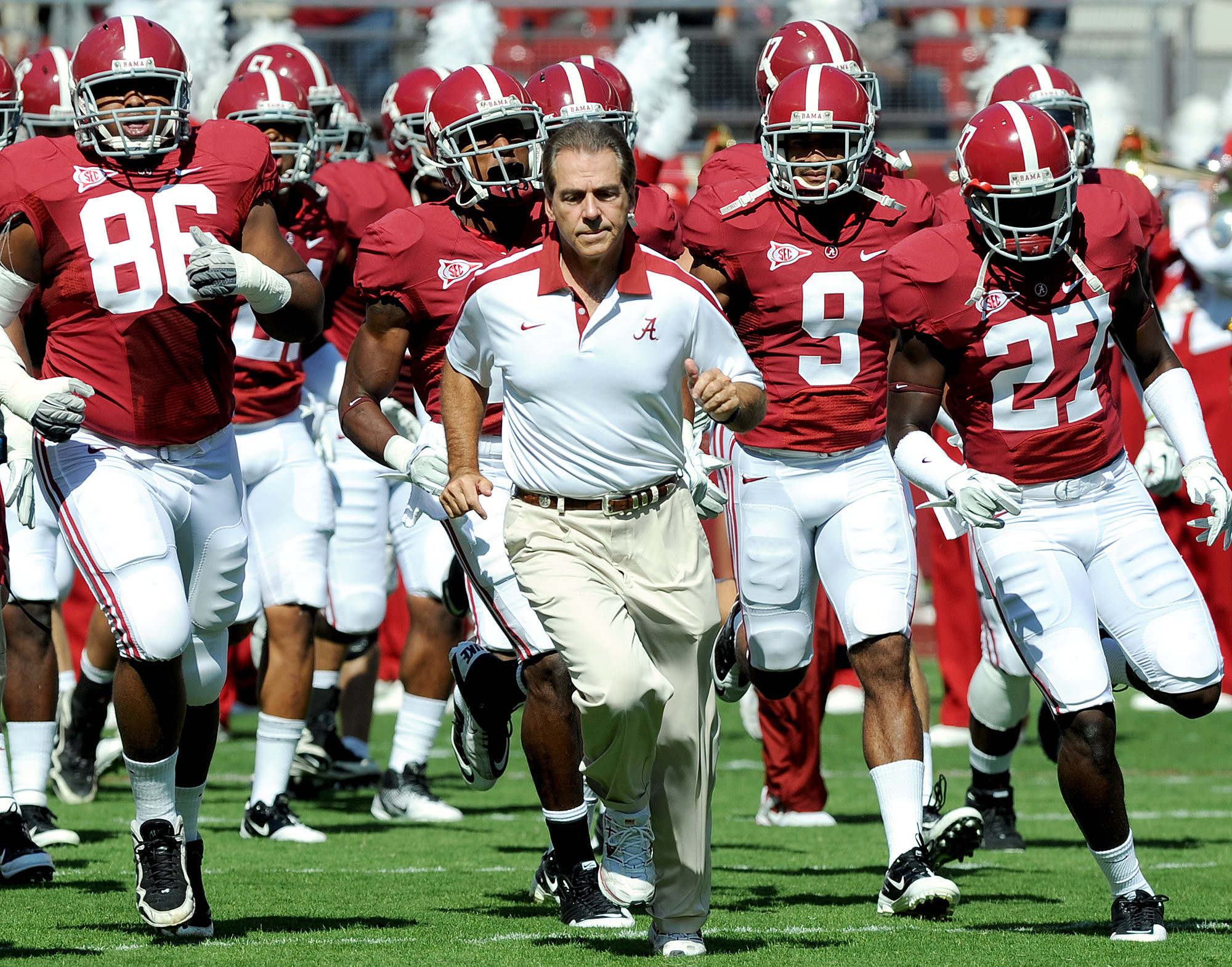 The official website for the athletics University of Alabama Official Athletics Site