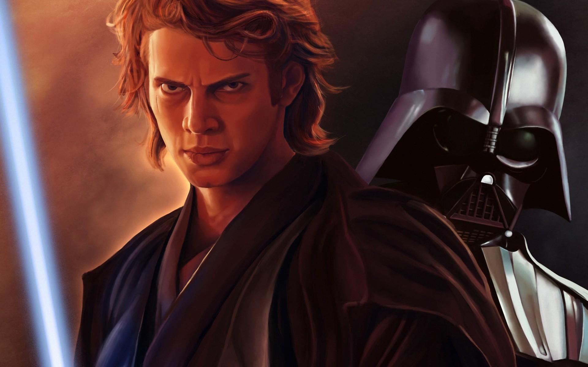 Star Wars Anakin Skywalker Tears Artwork Painting Source Wallpaper