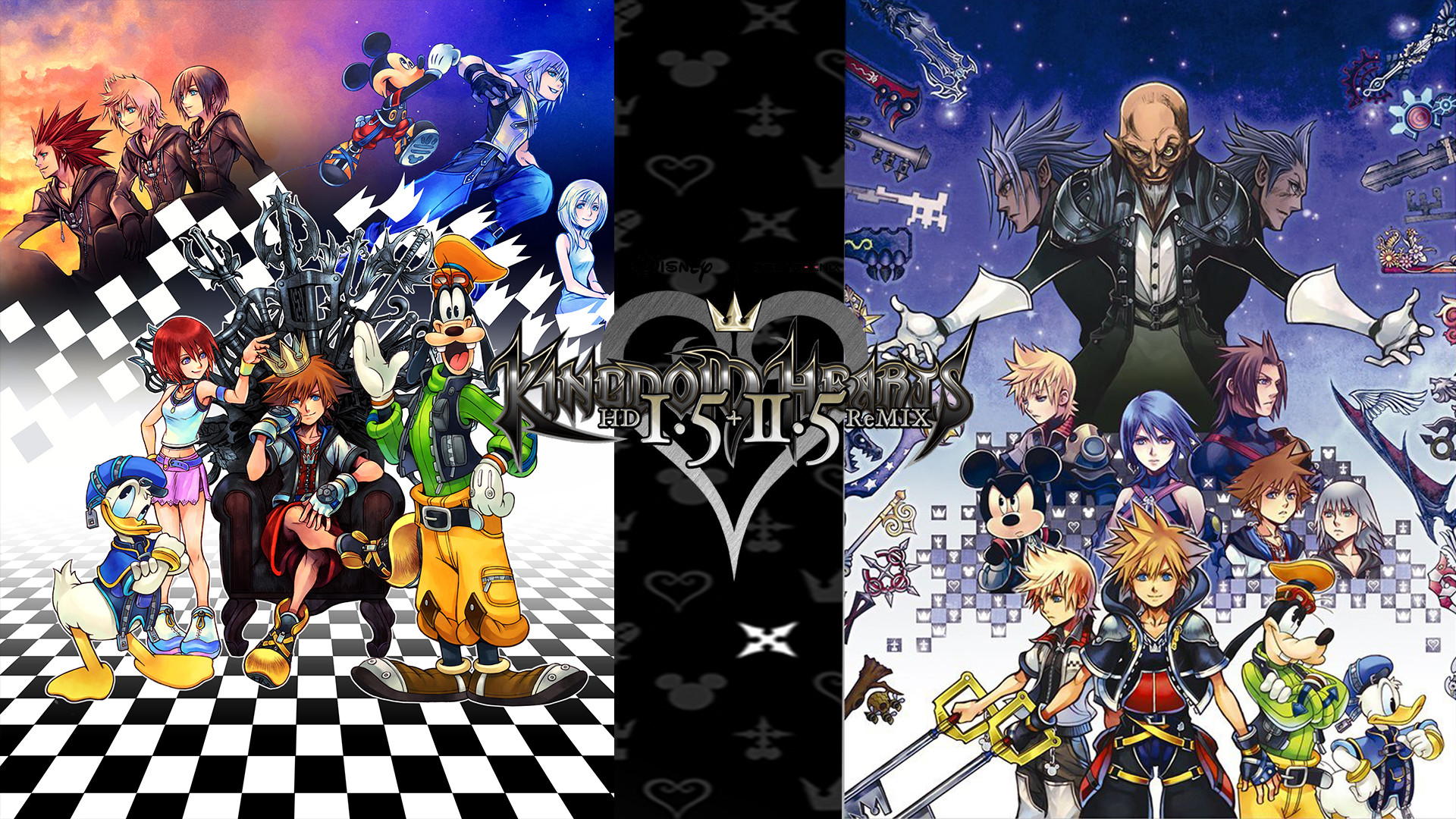 Kingdom Hearts 1 Wallpaper ·①