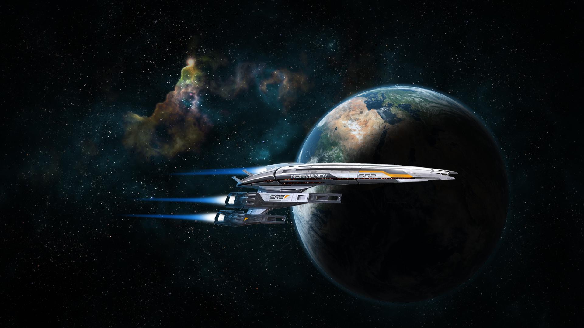 Mass Effect Normandy Wallpaper Wallpapertag