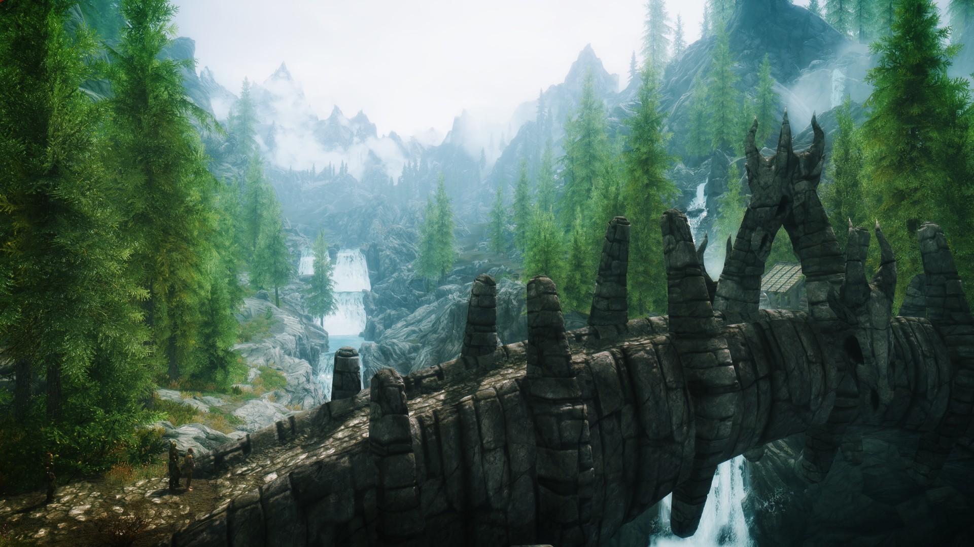 Skyrim Landscape Photo.