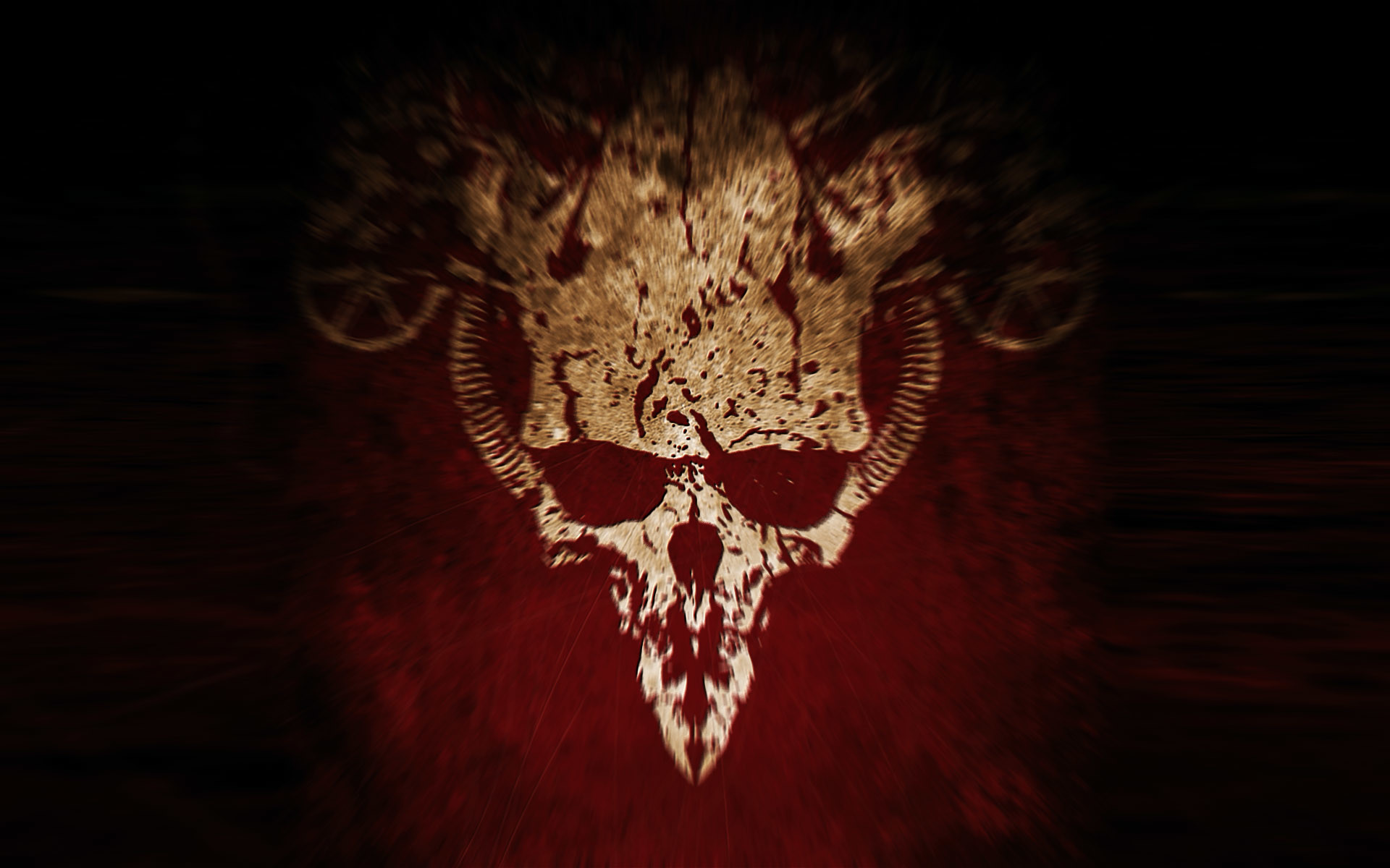Evil skull wallpaper - Devil skull wallpaper ...