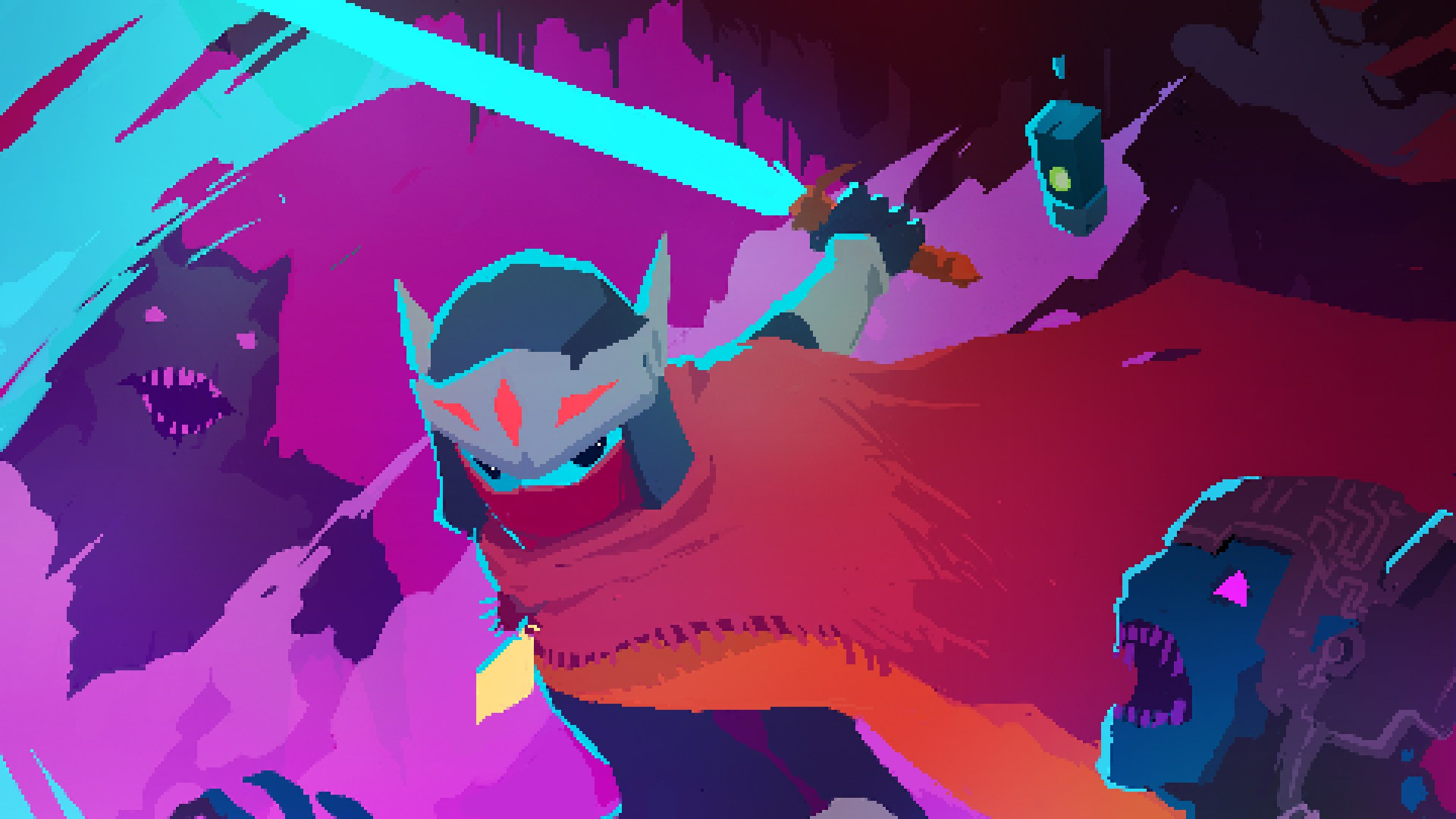Hyper Light Drifter Wallpaper 1920x1080 Download Free