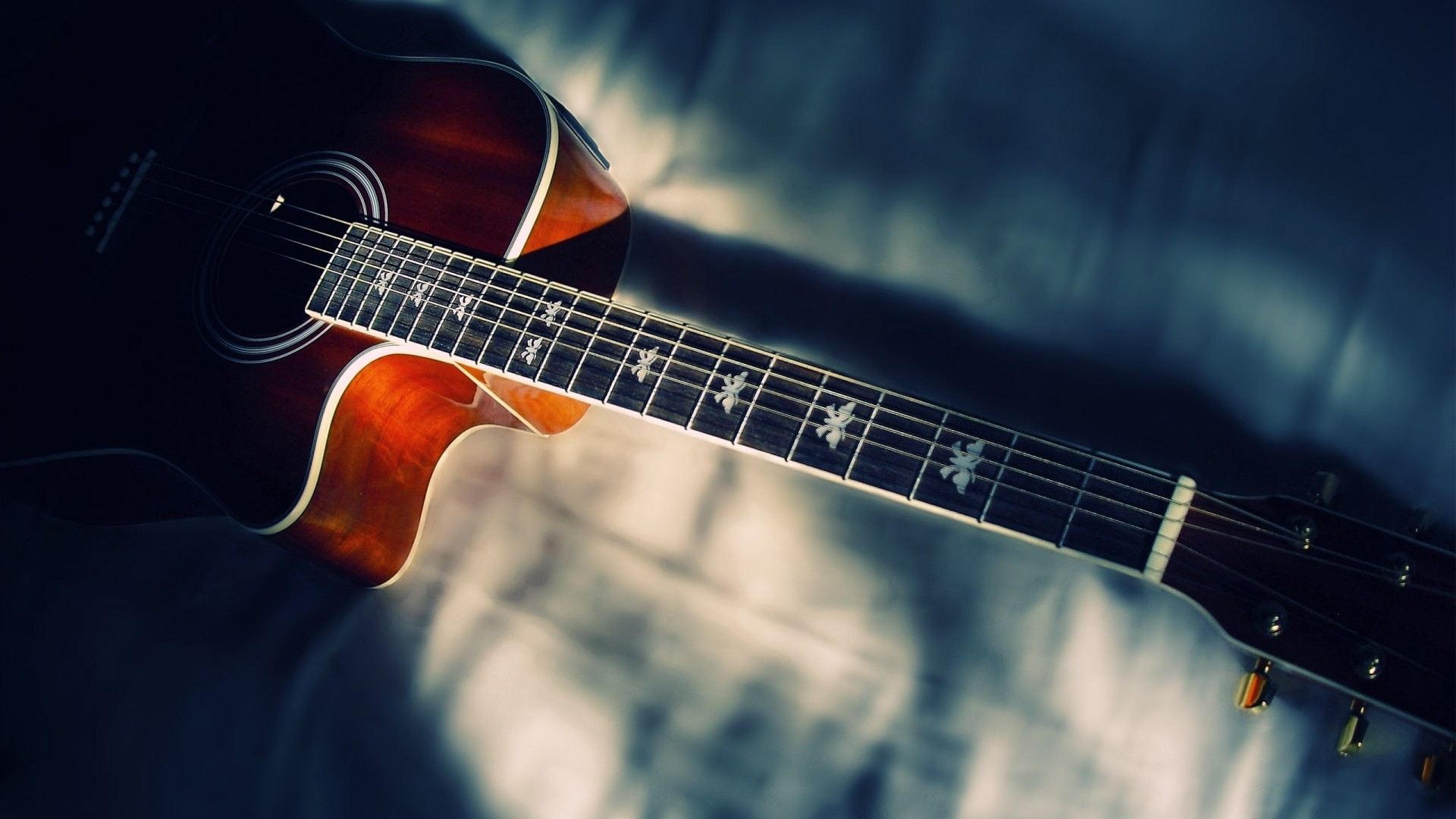acoustic guitar wallpaper  â free awesome full hd
