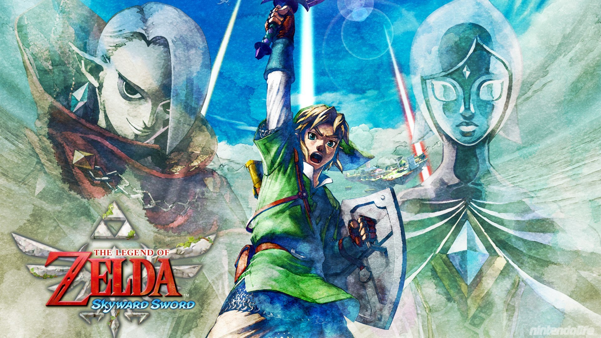 Legend Of Zelda Skyward Sword Wallpaper Wallpapertag