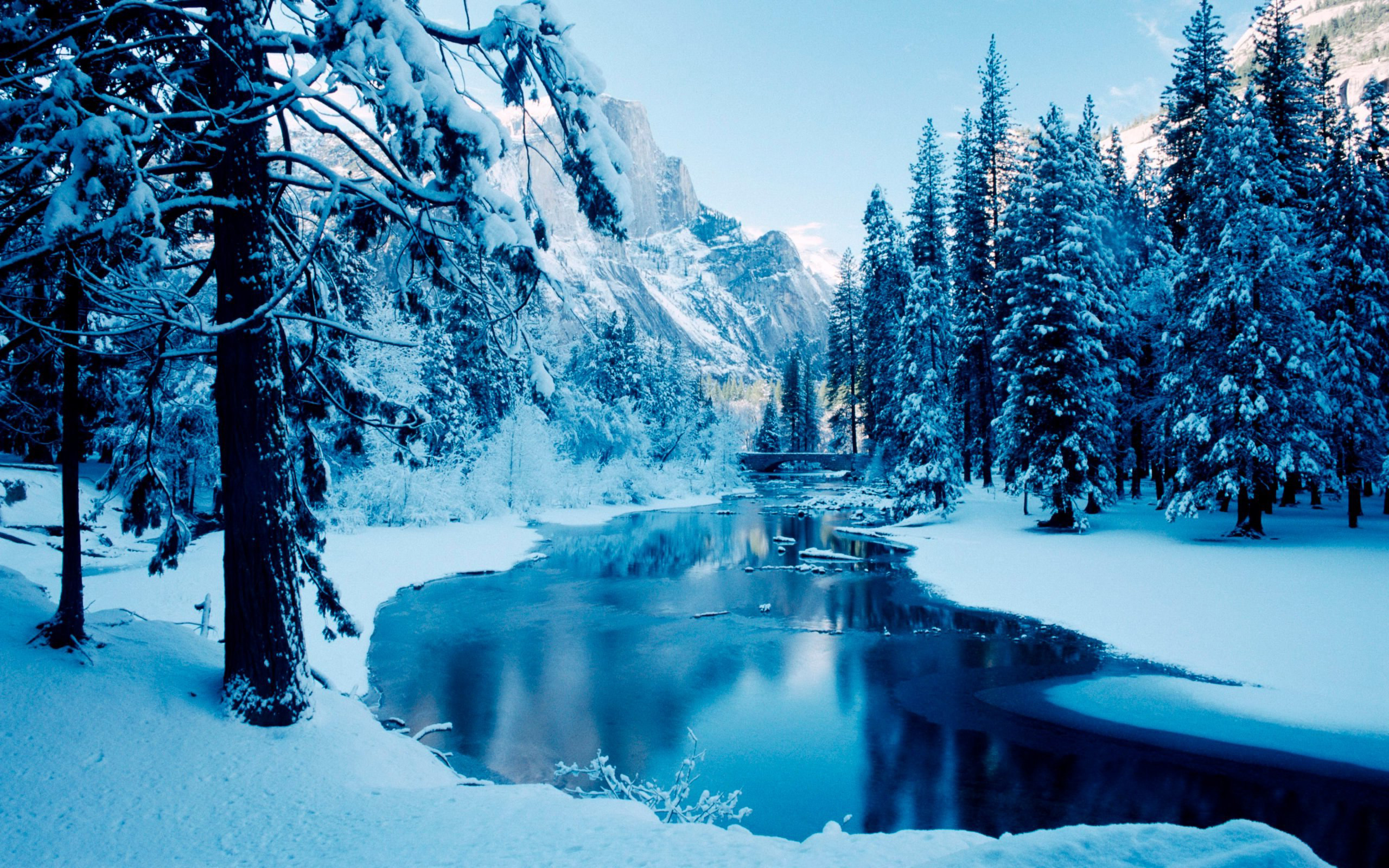 Winter Background Scenes ·① WallpaperTag