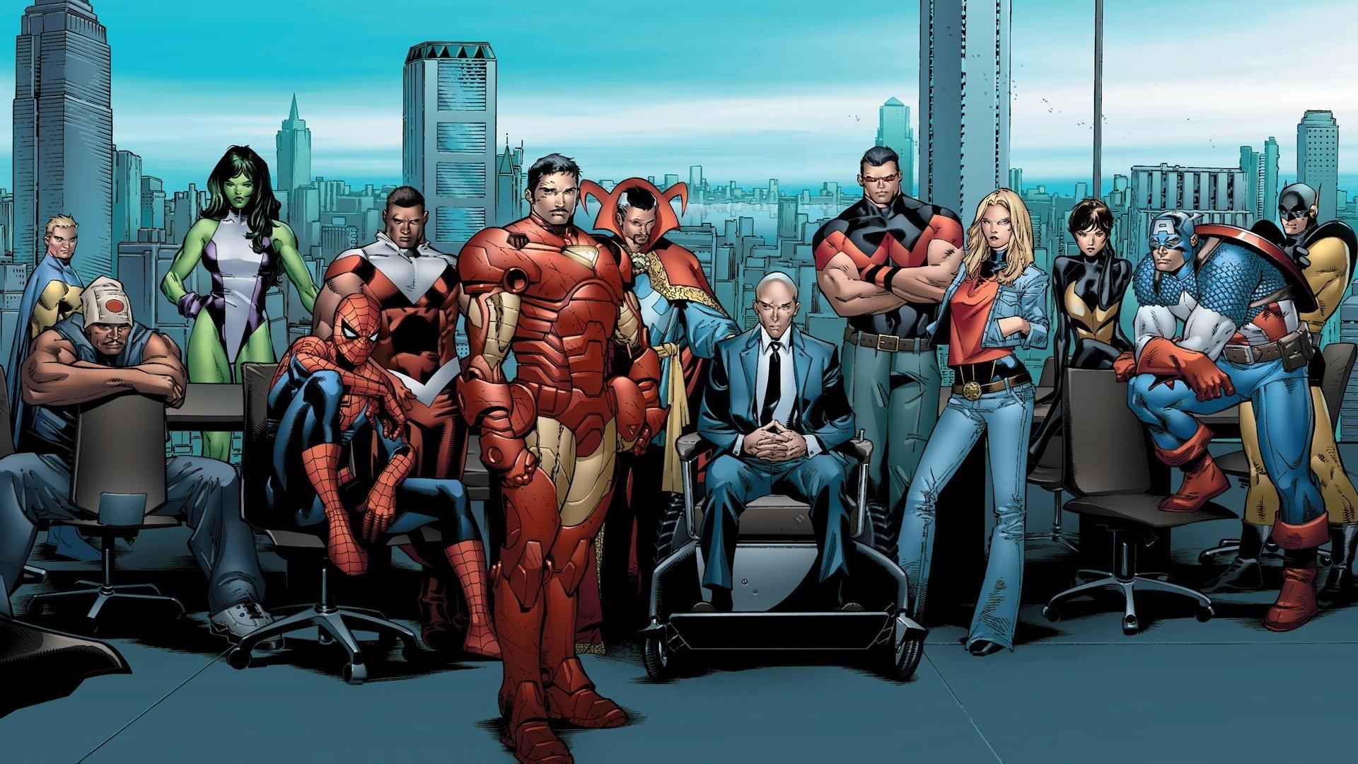 Marvel Characters Wallpaper 1