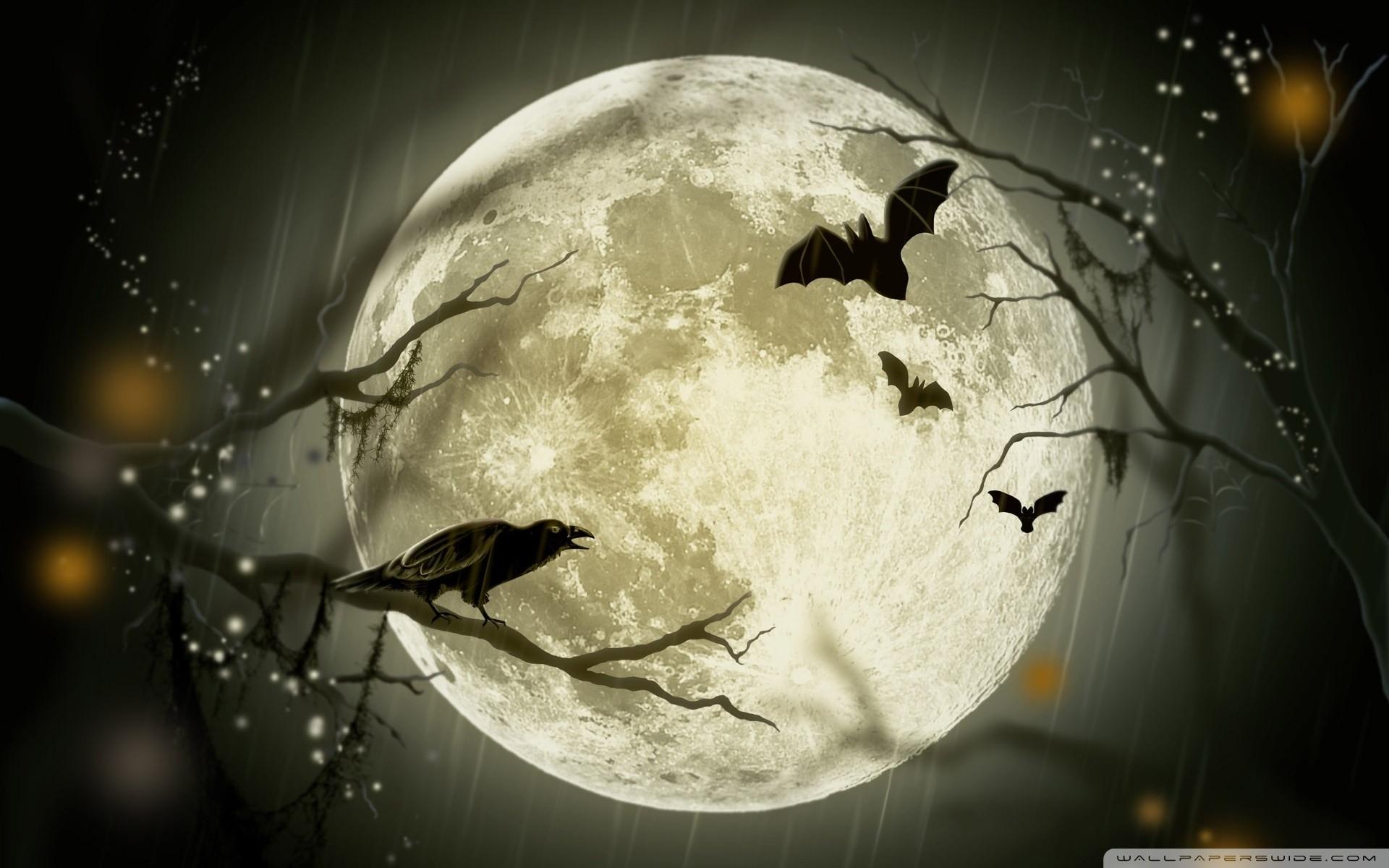 Halloween desktop wallpapers wallpapertag - Free widescreen halloween wallpaper ...