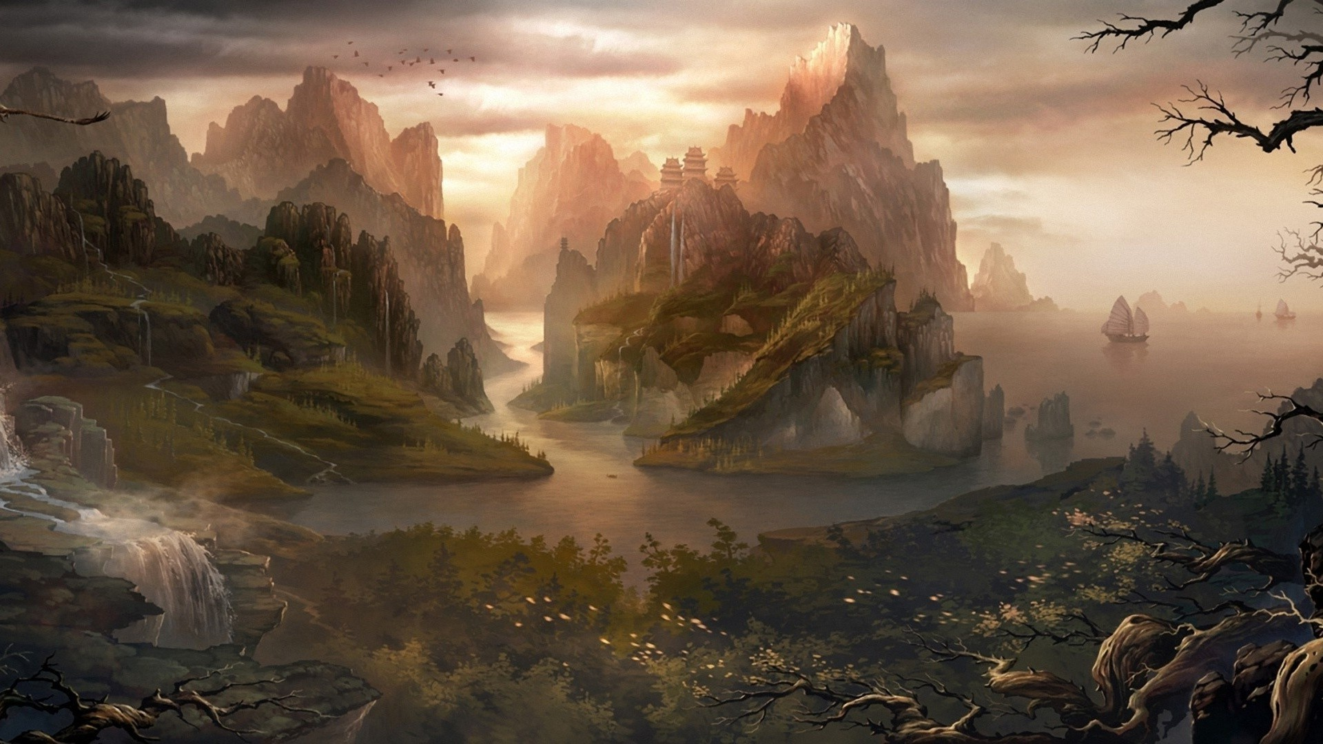 Stunning Hd Fantasy Wallpapers: 75+ Fantasy Backgrounds ·① Download Free Full HD