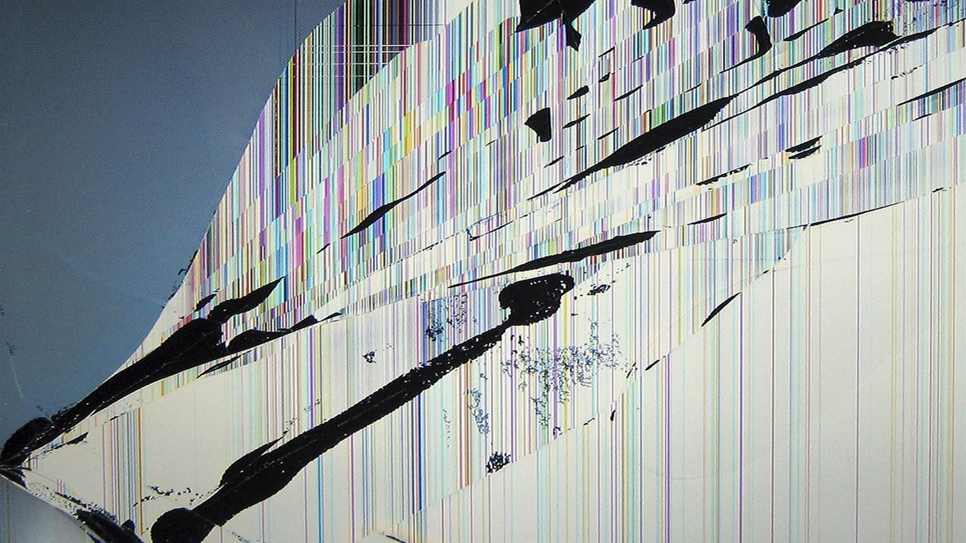 Download Free Broken Screen Wallpaper 1920x1080 Lockscreen