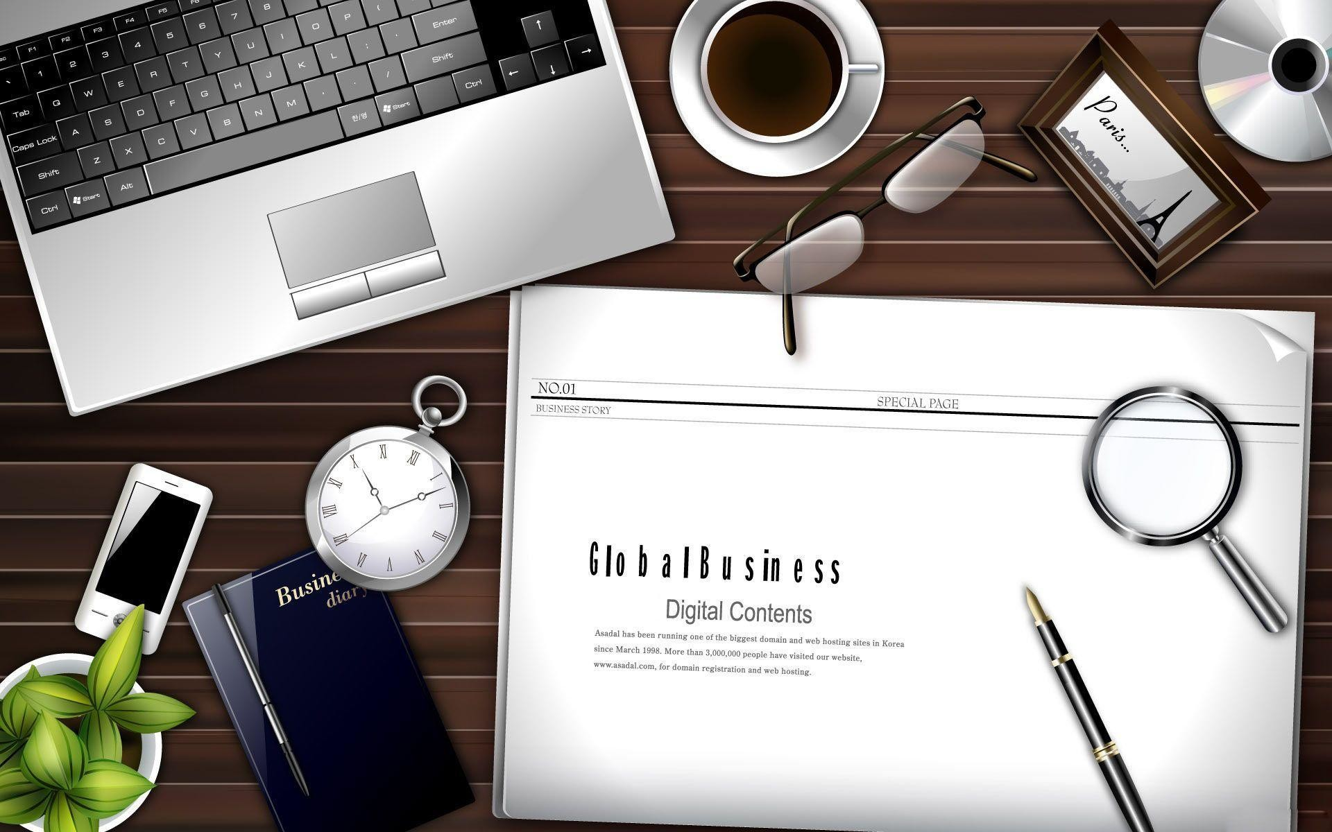 The office Desktop Wallpaper