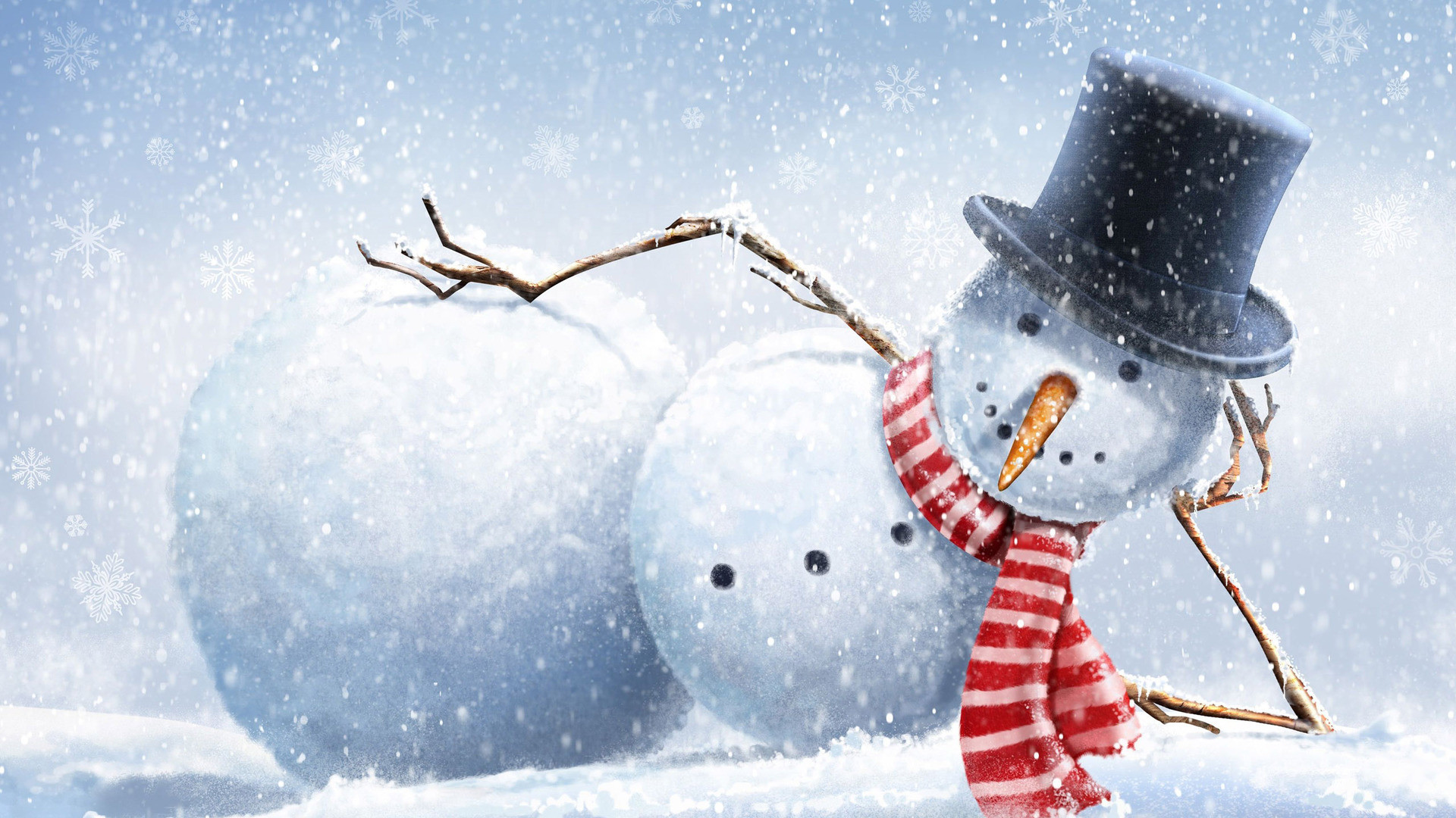 cute country snowman wallpaper - photo #13