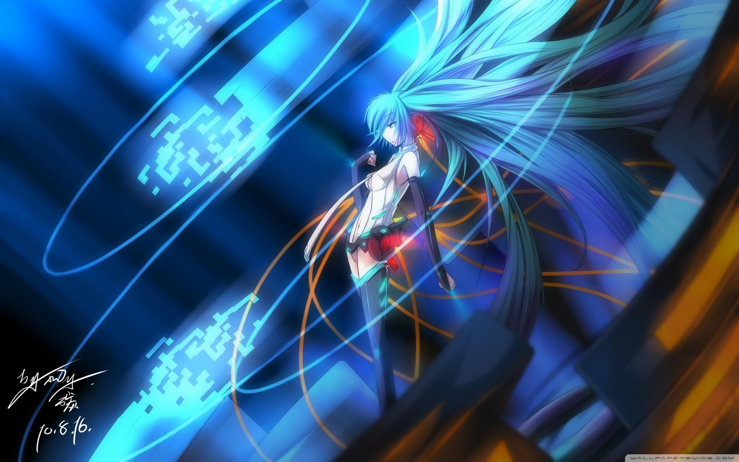 Vocaloid Miku Wallpaper ·① WallpaperTag