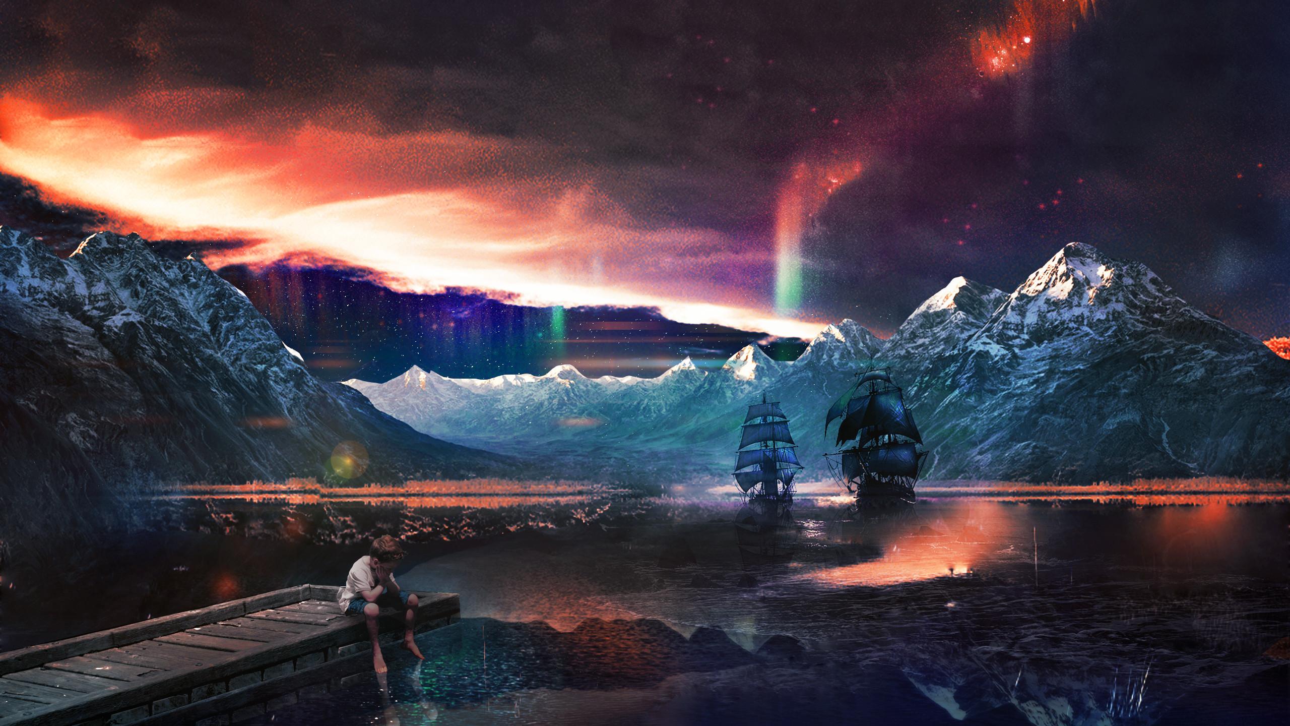Space fantasy wallpaper wallpapertag - Space 2560 x 1440 ...