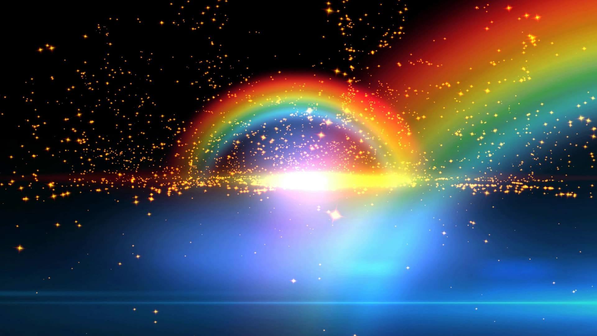 Double Rainbow Wedding Photo Is Breathtakingly Beautiful ...  |Double Rainbow Wallpaper
