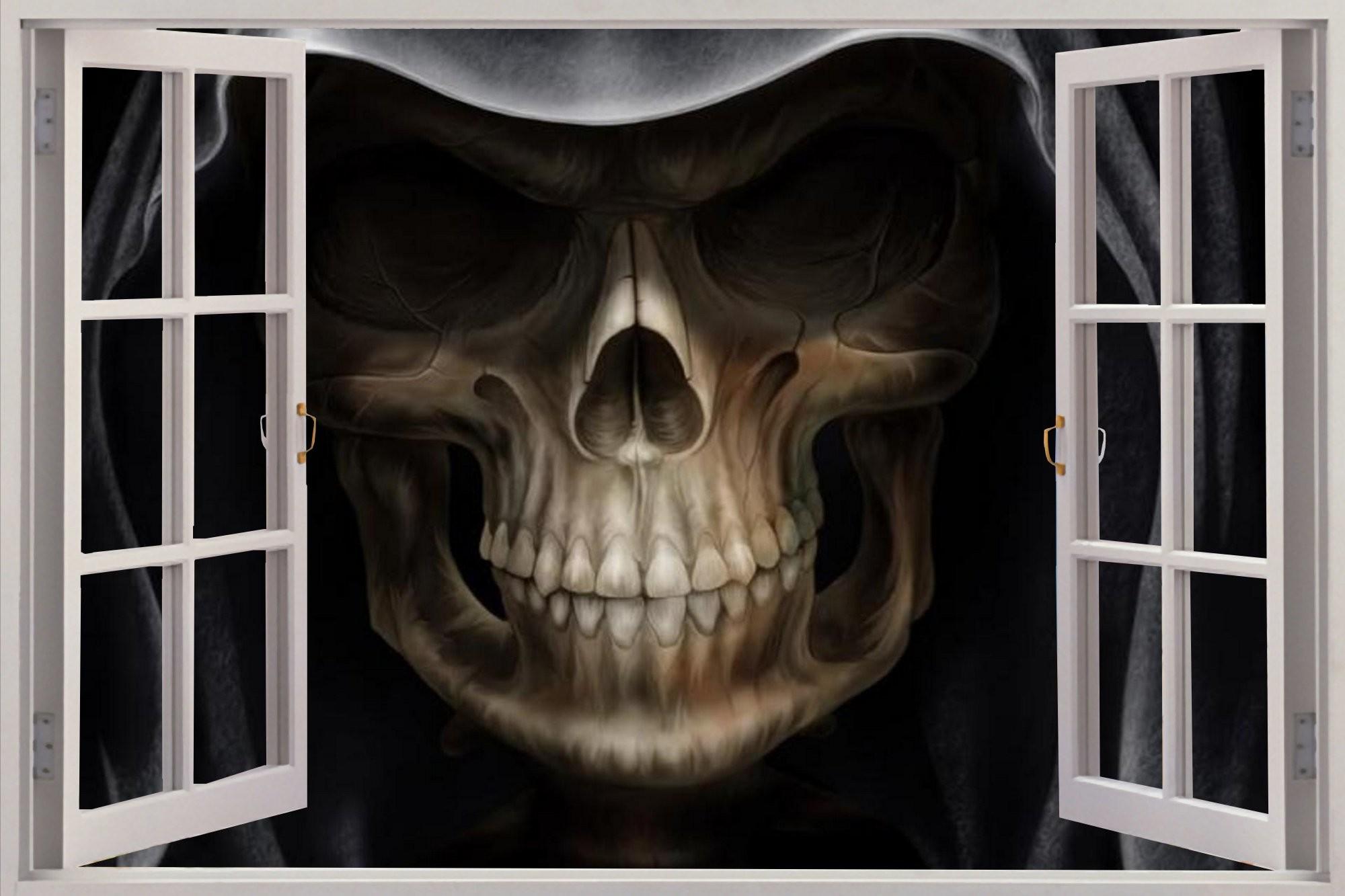 Skull 3d Wallpaper: 3D Skull Wallpaper ·① WallpaperTag