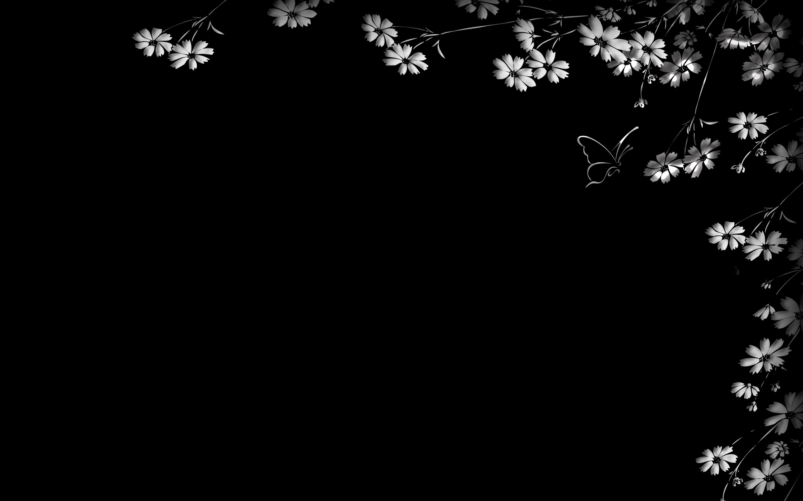 Pretty Black And White Backgrounds 1