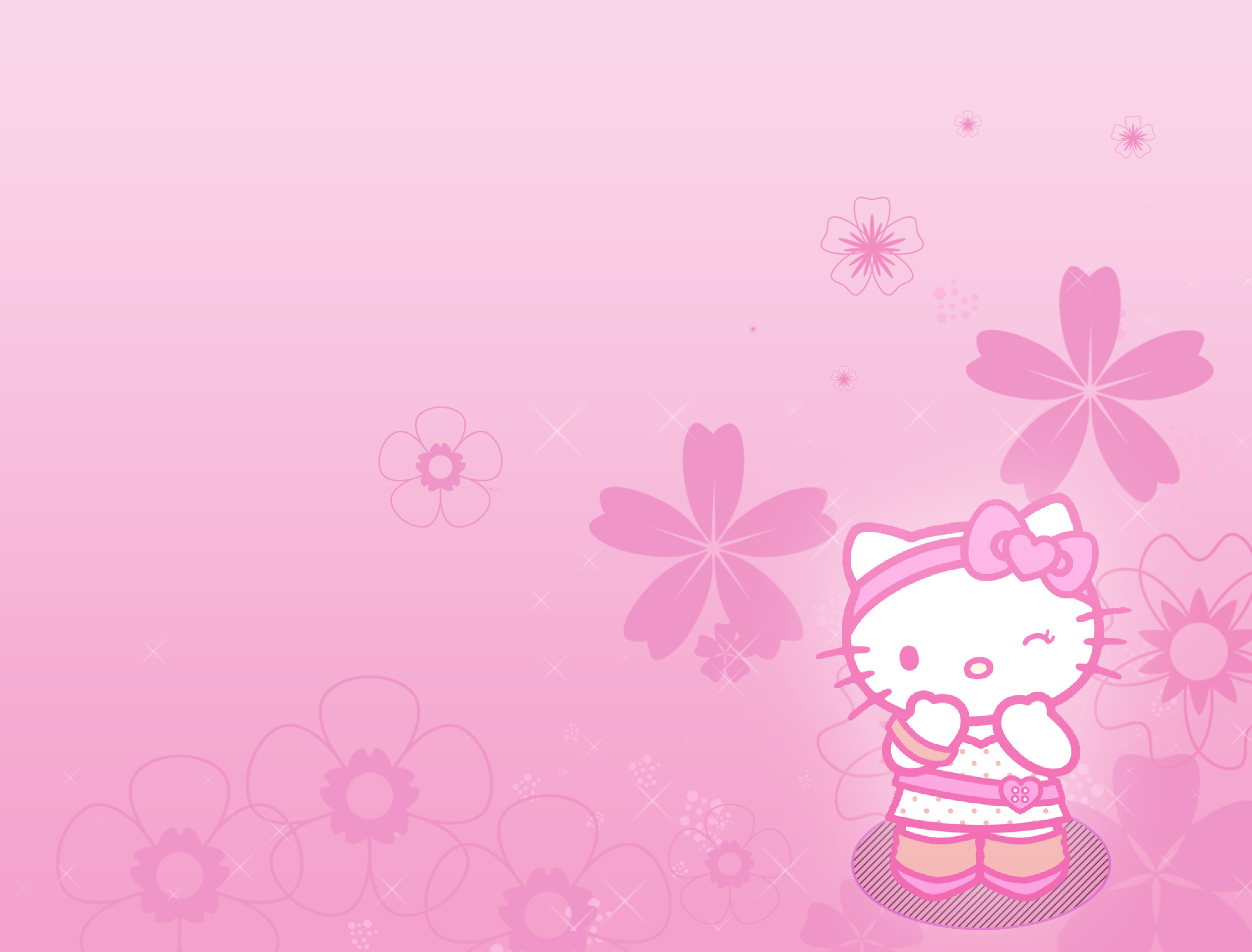 Christmas Hello Kitty Wallpaper