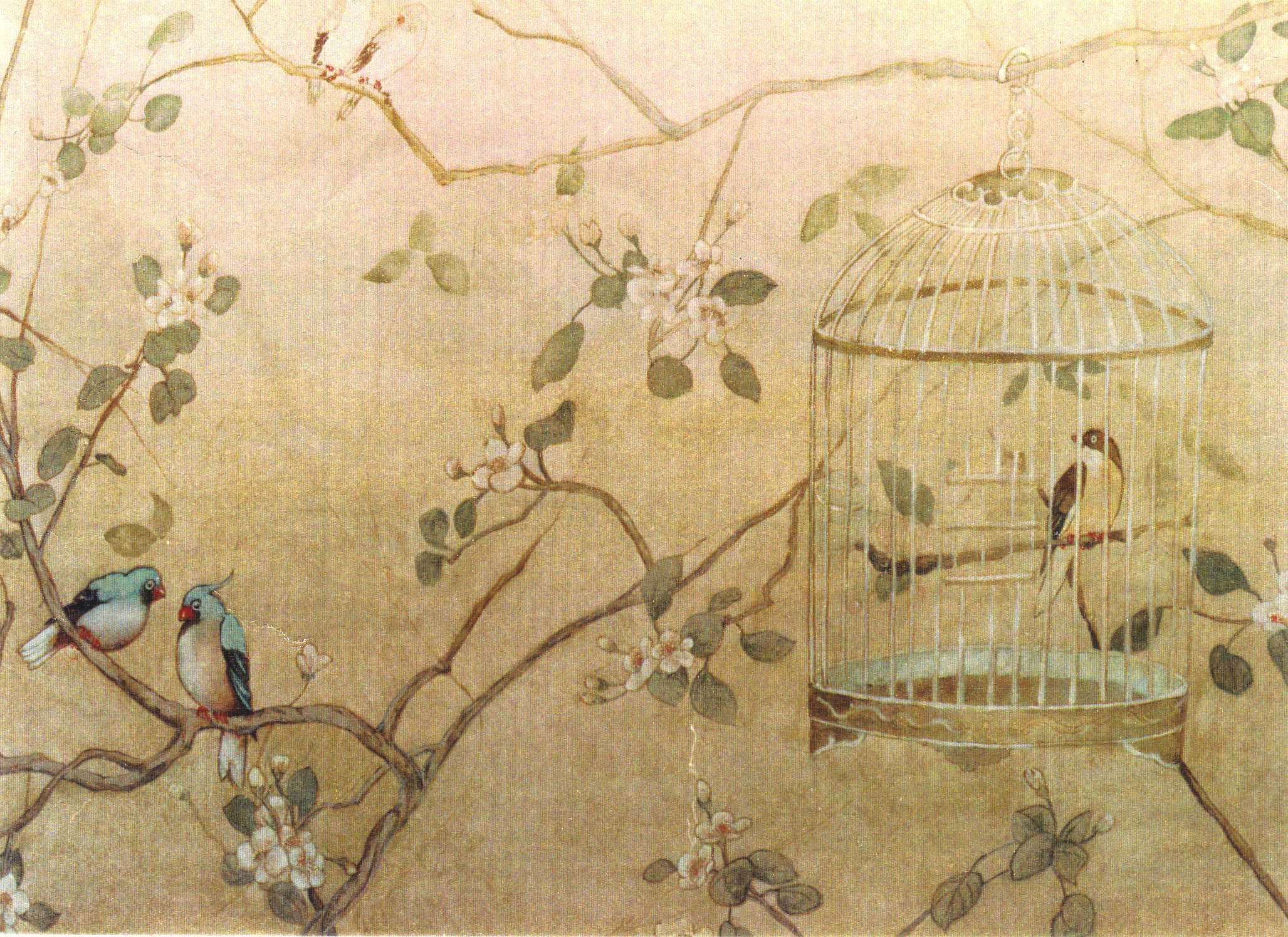 Chinoiserie wallpaper ·① Download free stunning full HD backgrounds ...