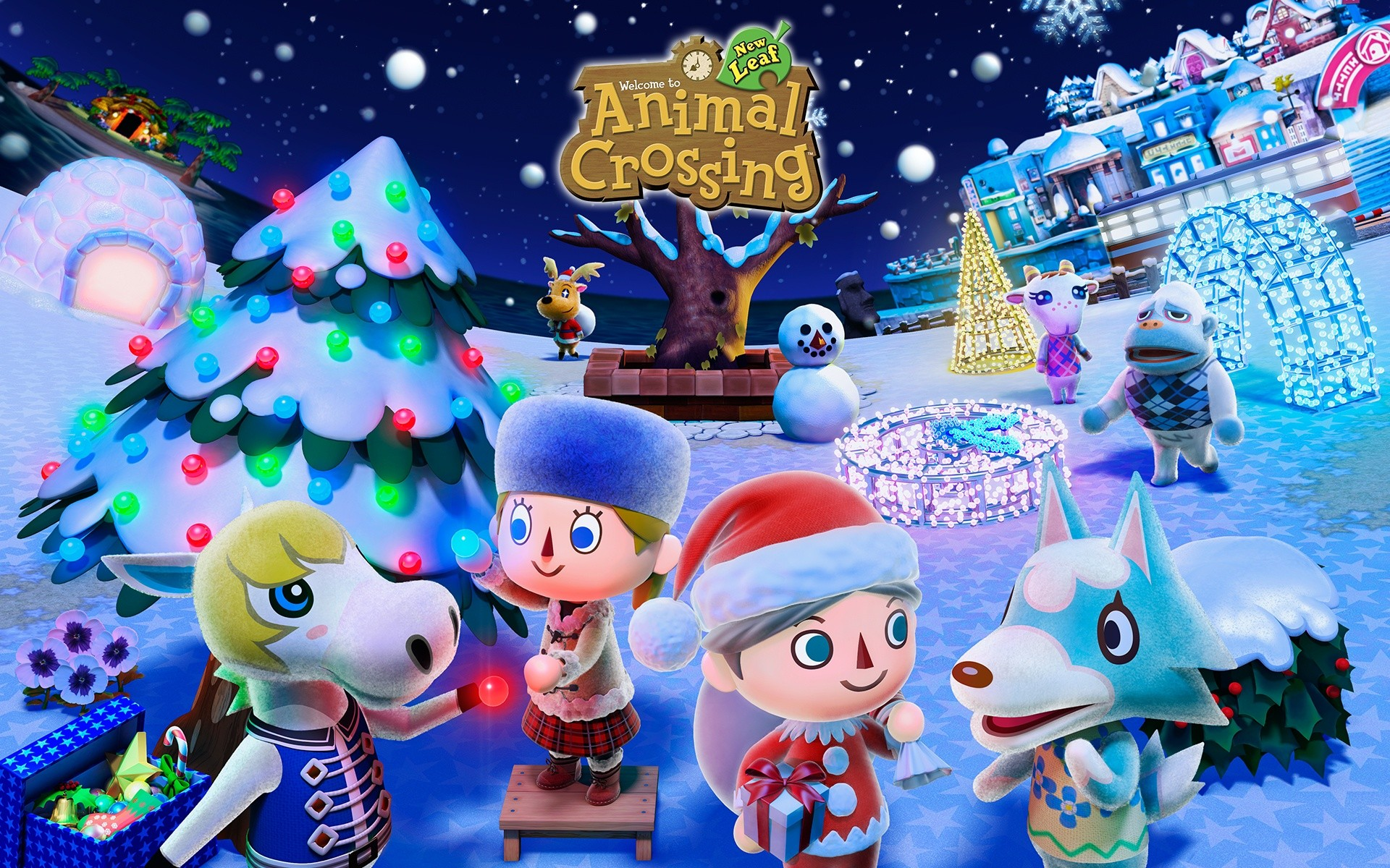 Animal Crossing wallpaper ·① Download free stunning HD backgrounds for desktop and mobile ...