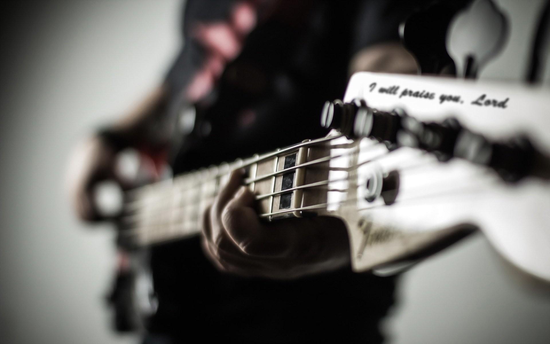 Hd Bass Guitar Wallpaper: Fender Guitar Wallpaper ·① WallpaperTag