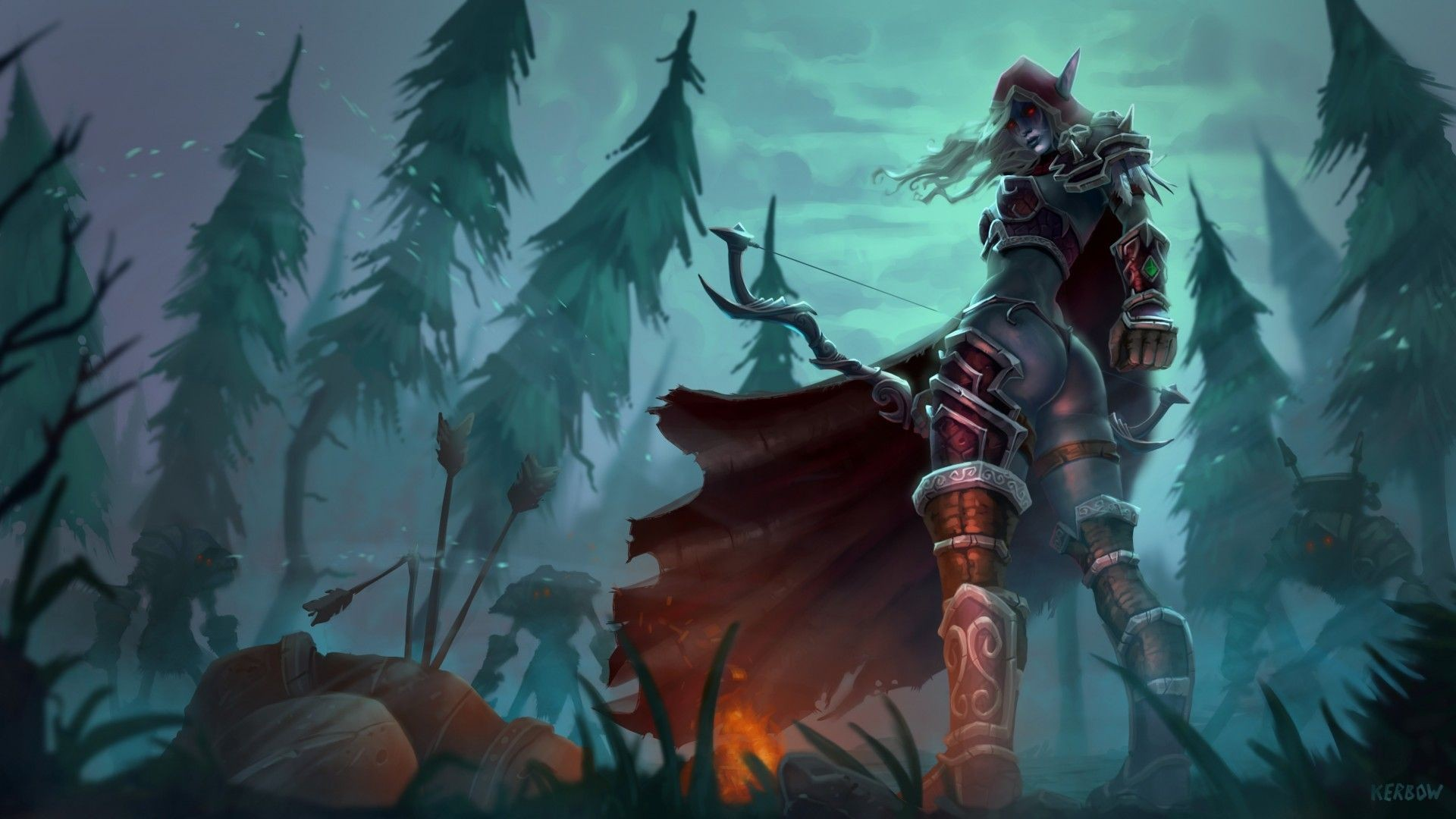 Sylvanas Wallpaper 1 Download Free Cool Full HD Backgrounds For