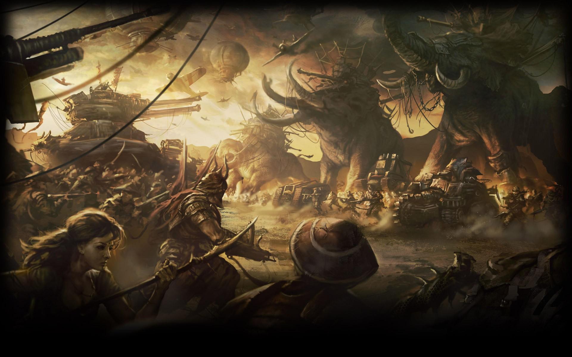 War background