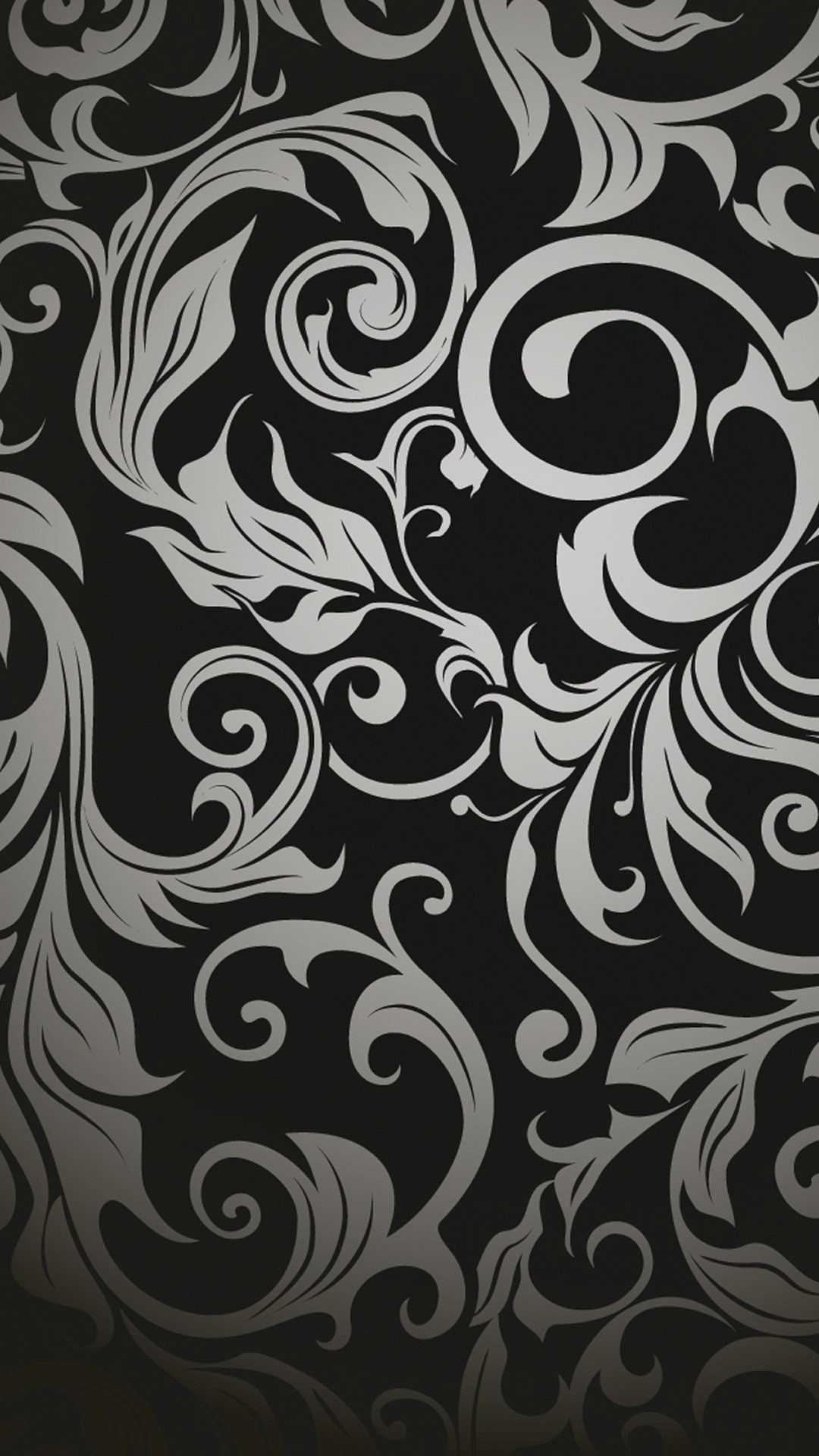Black And White Abstract Wallpaper ①