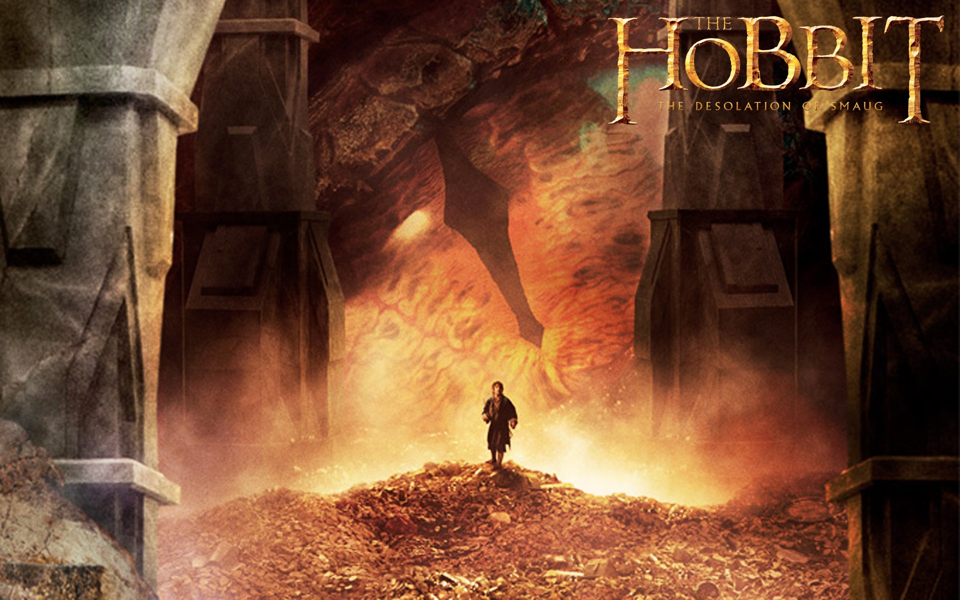 The Hobbit The Desolation of Smaug is a 2013 epic high fantasy adventure film directed by Peter Jackson and produced by WingNut Films in collaboration with New Line